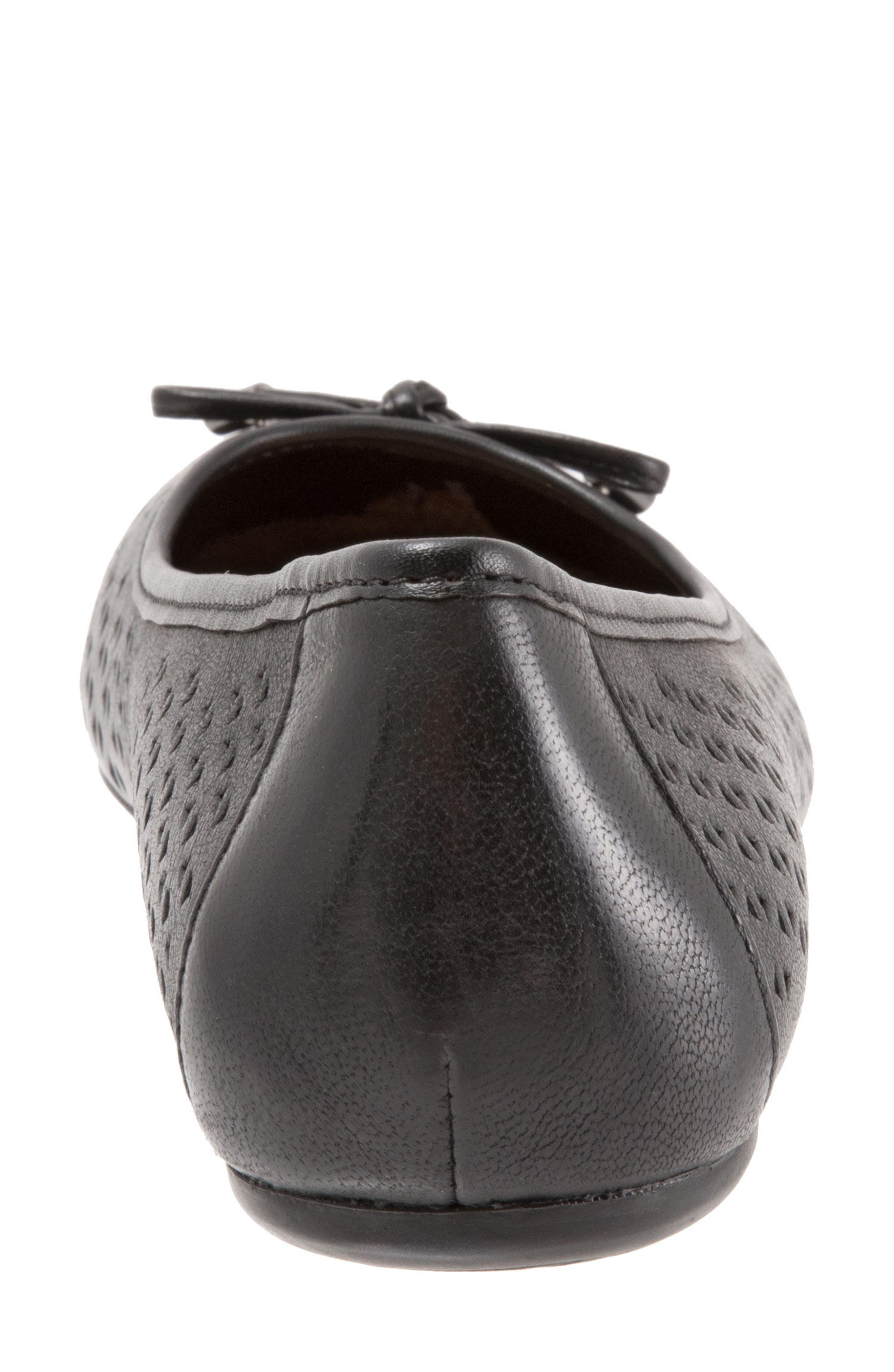 Napa Flat,                             Alternate thumbnail 7, color,                             Black Leather