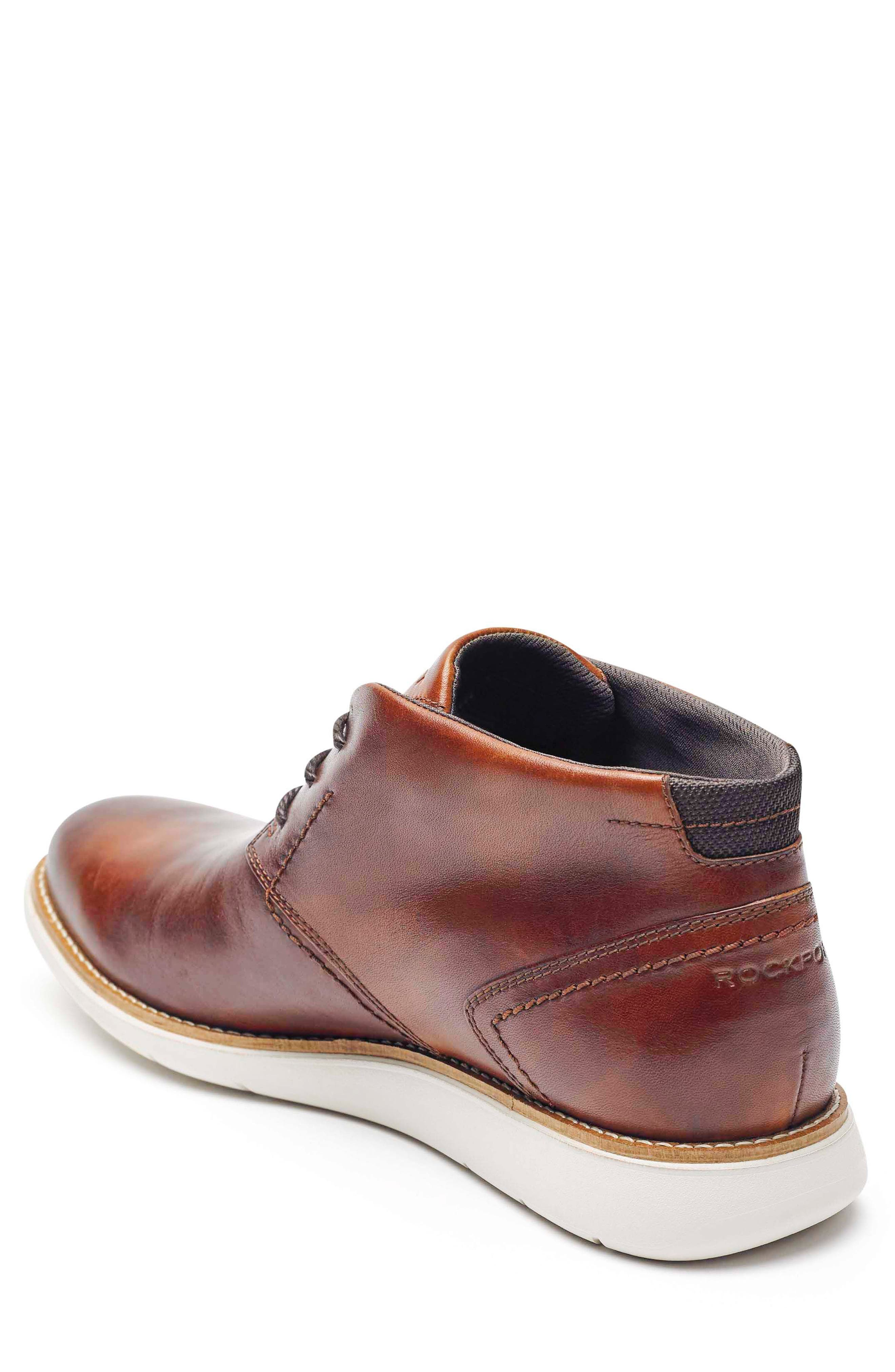 Total Motion Sport Dress Chukka Boot,                             Alternate thumbnail 2, color,                             Tan Leather