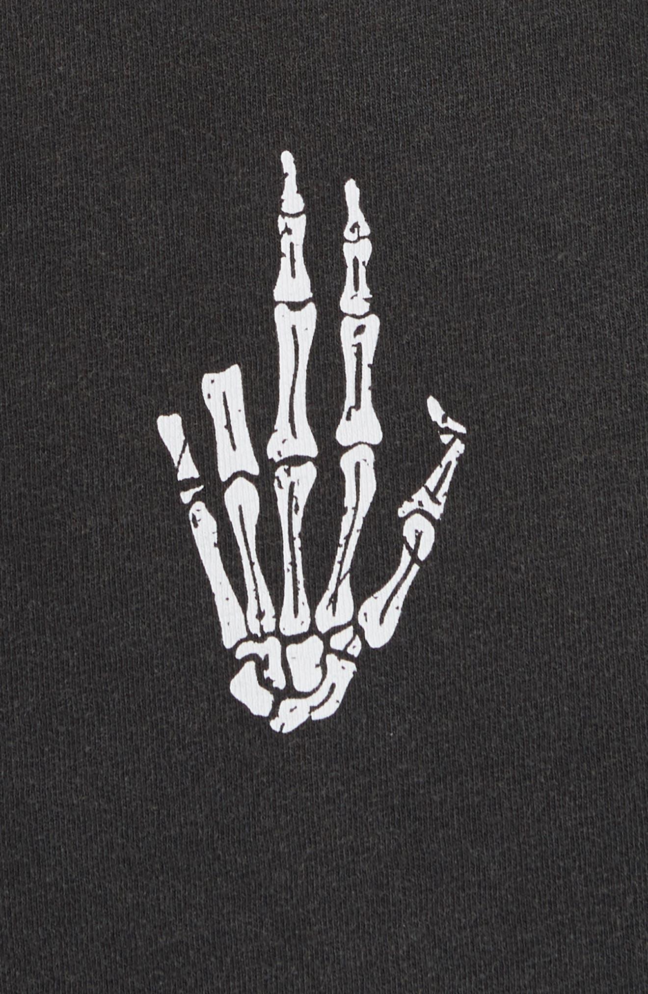 Alternate Image 5  - The Kooples Skeleton Hand Graphic T-Shirt