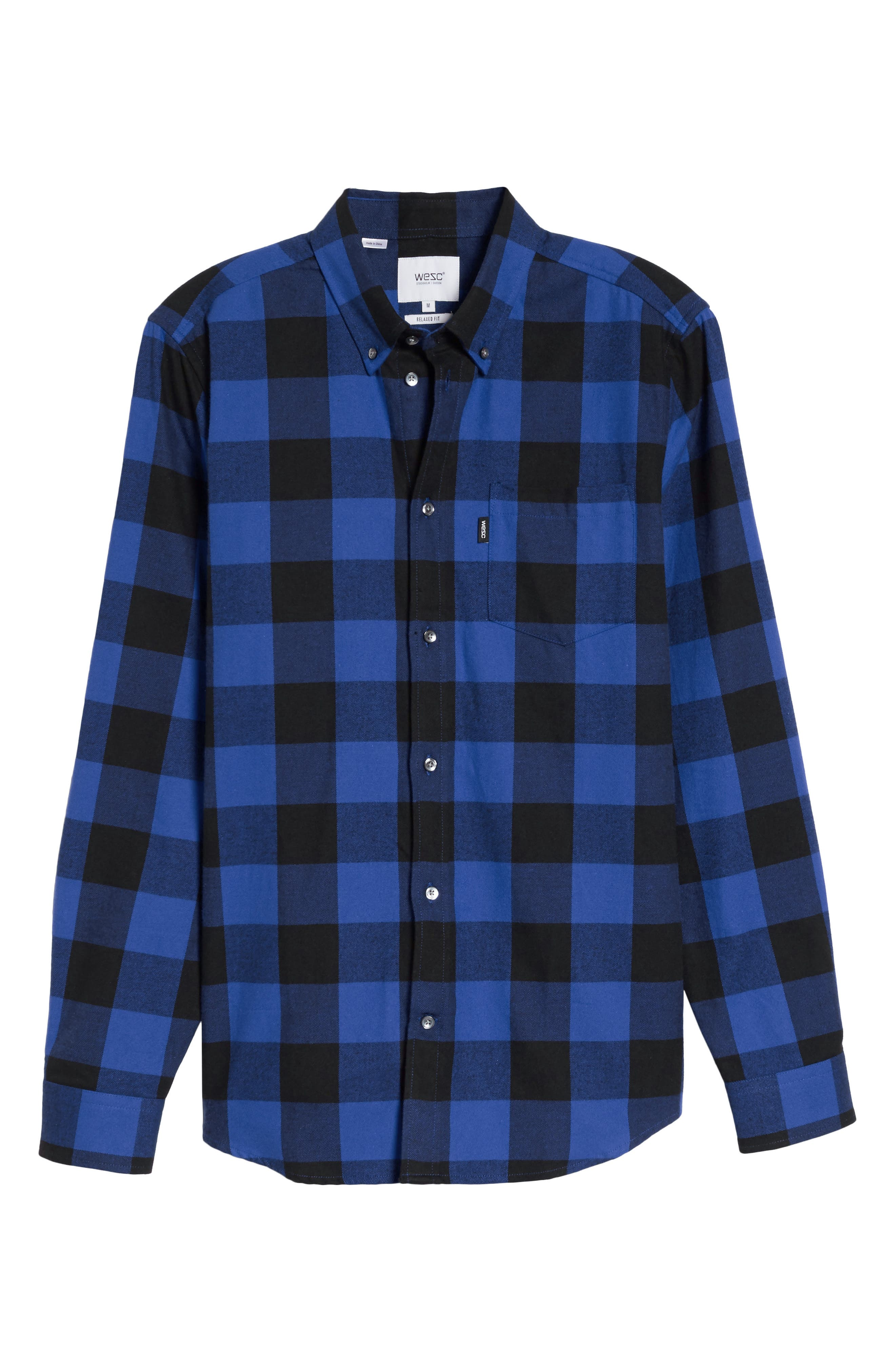 Alternate Image 6  - WeSC Olavi Check Flannel Shirt