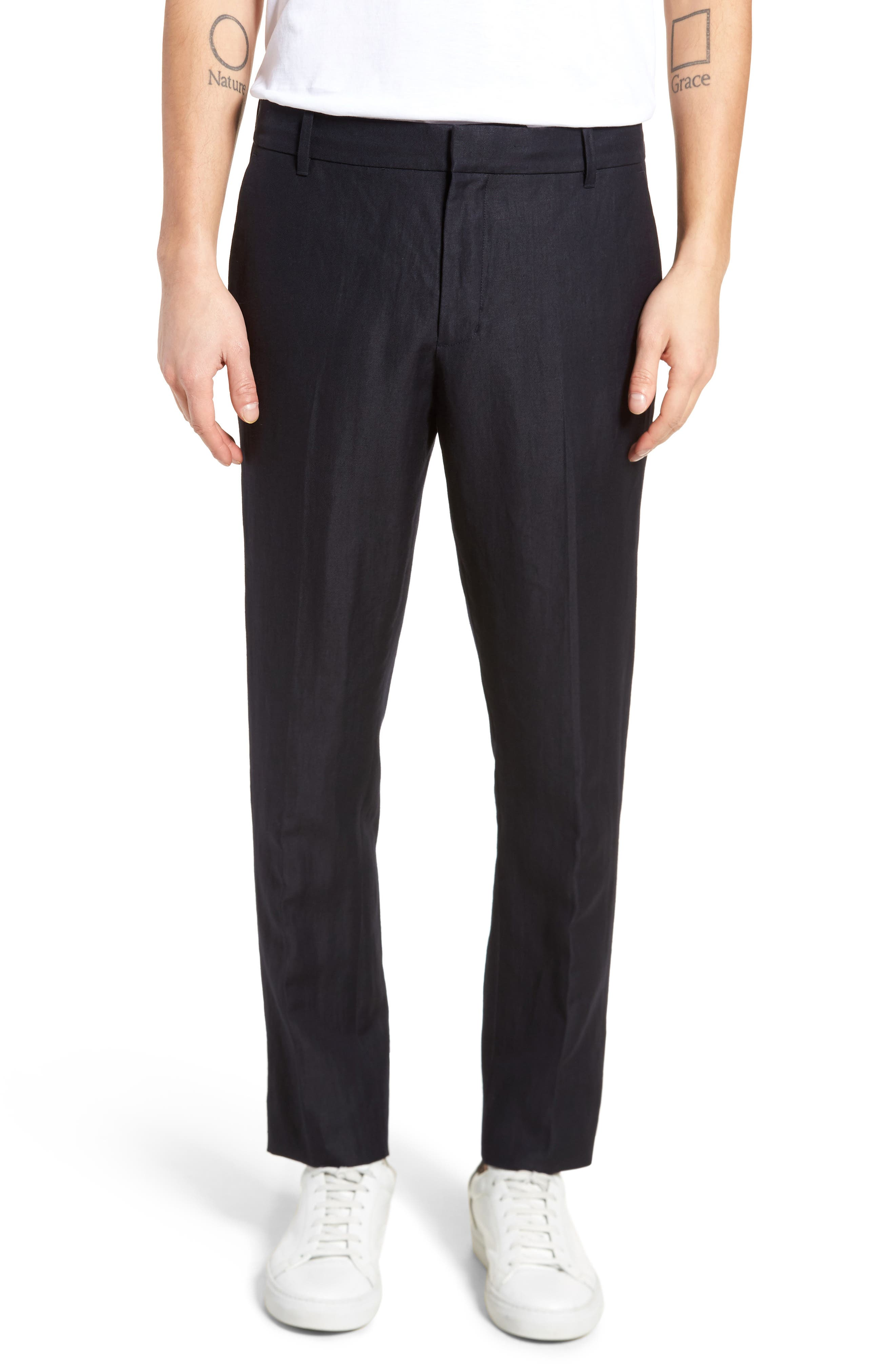 Vince Regular Fit Tapered Trousers