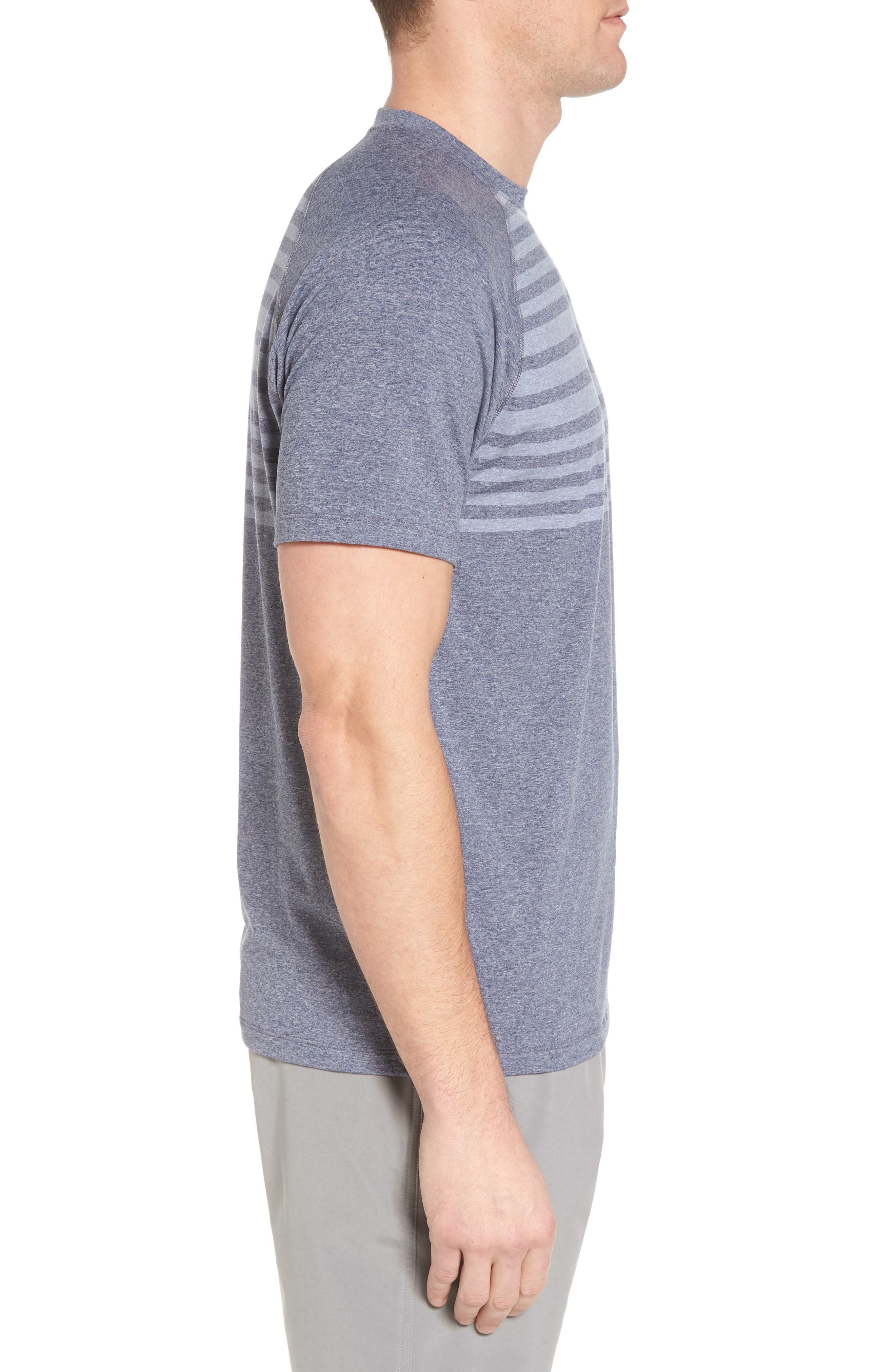 Alternate Image 3  - Peter Millar Rio Stripe Technical T-Shirt