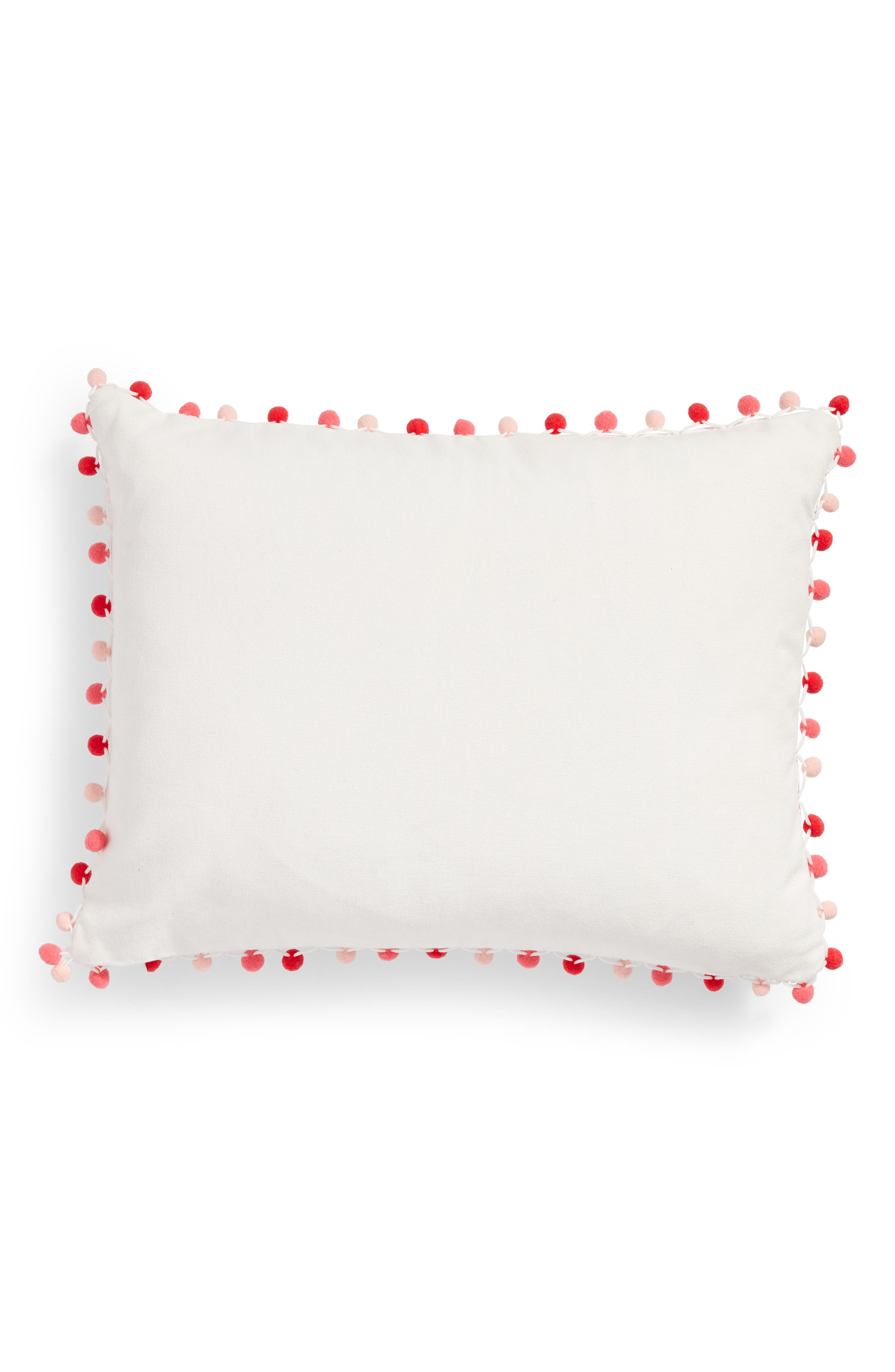 Butter Half Accent Pillow,                             Alternate thumbnail 2, color,                             Ivory