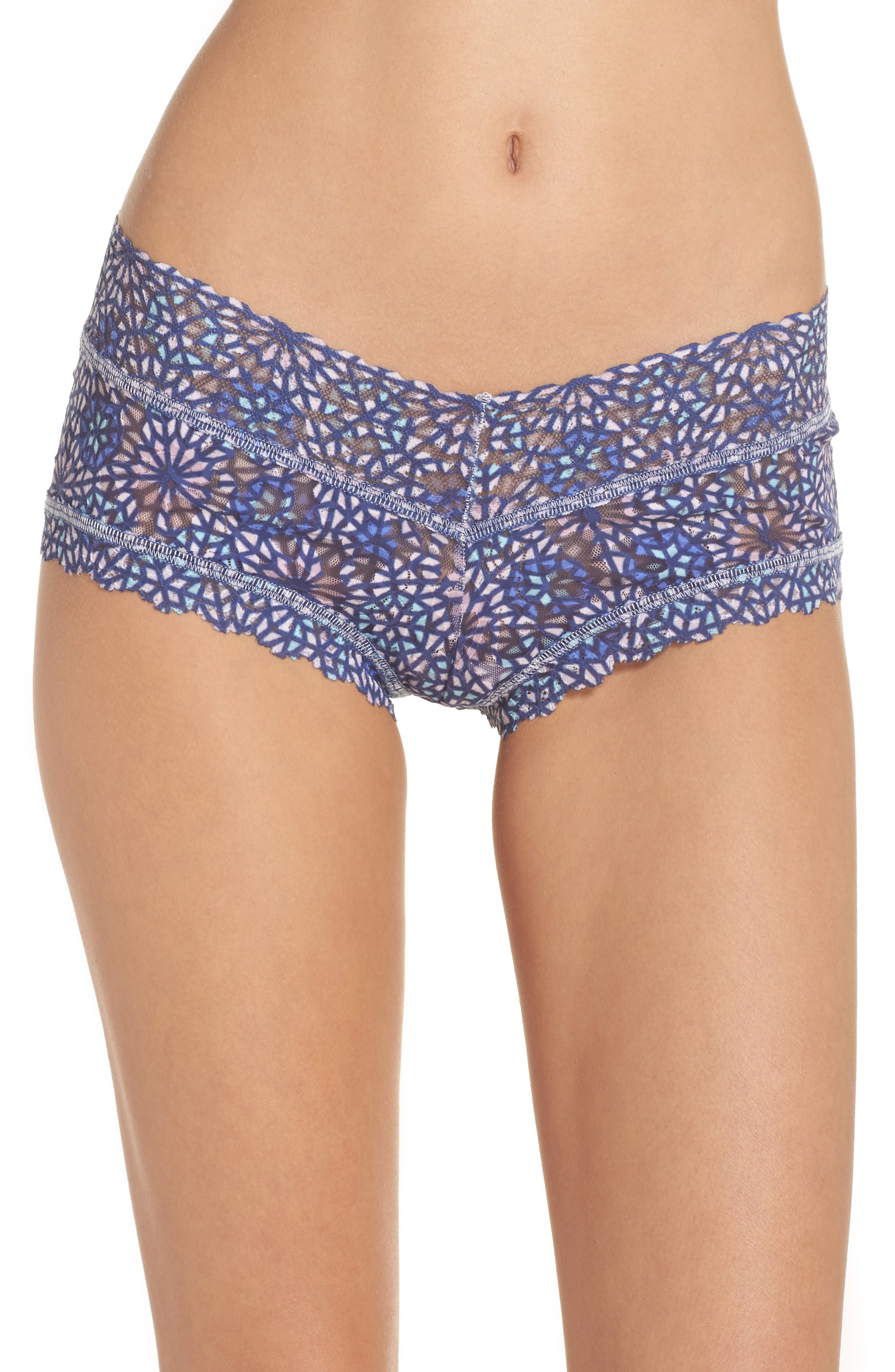 Maria Boyshorts,                             Main thumbnail 1, color,                             Blue Multi