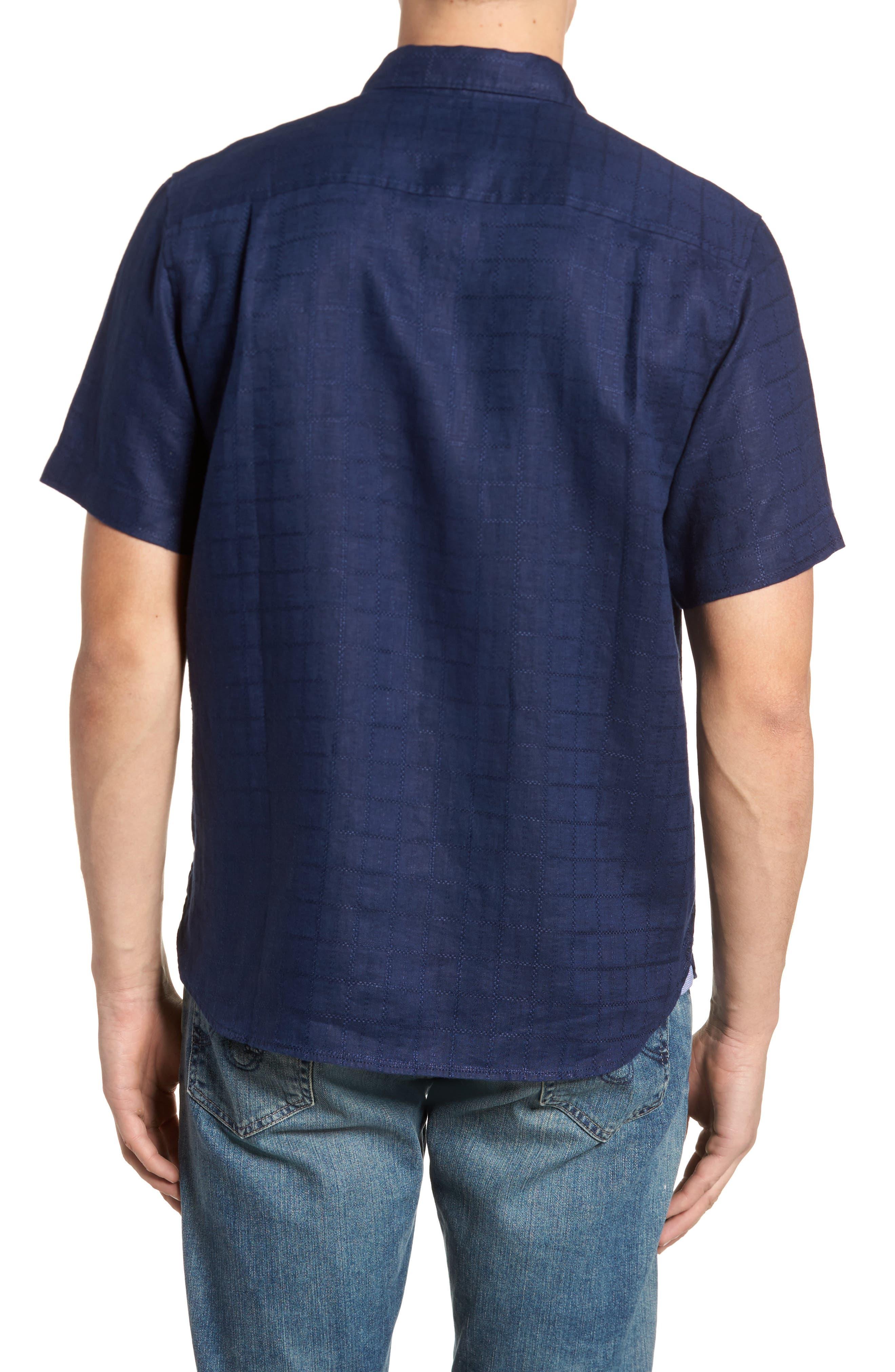 Alternate Image 2  - Tommy Bahama Costa Sera Linen Sport Shirt