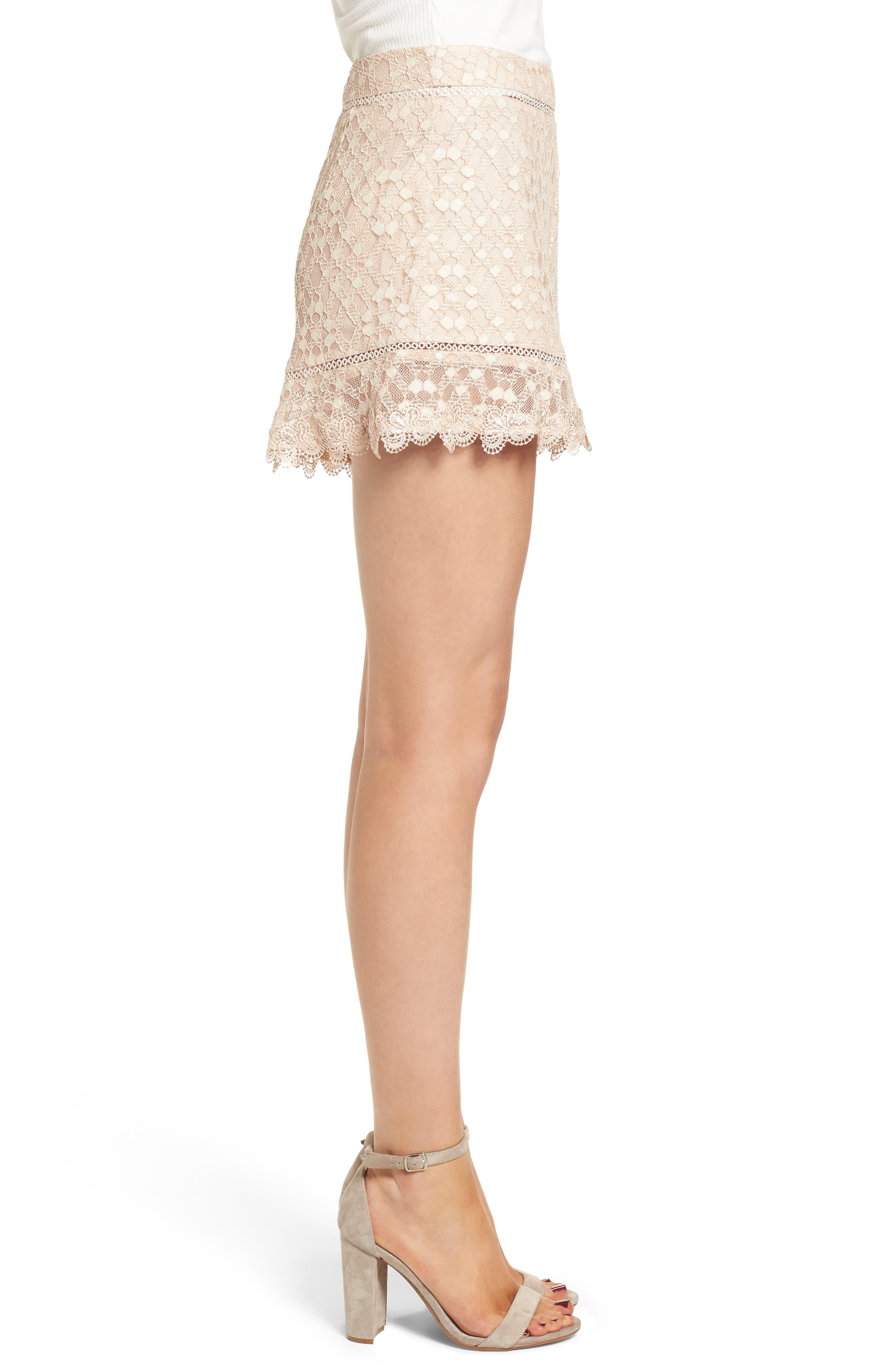 Alternate Image 3  - J.O.A. Lace Shorts