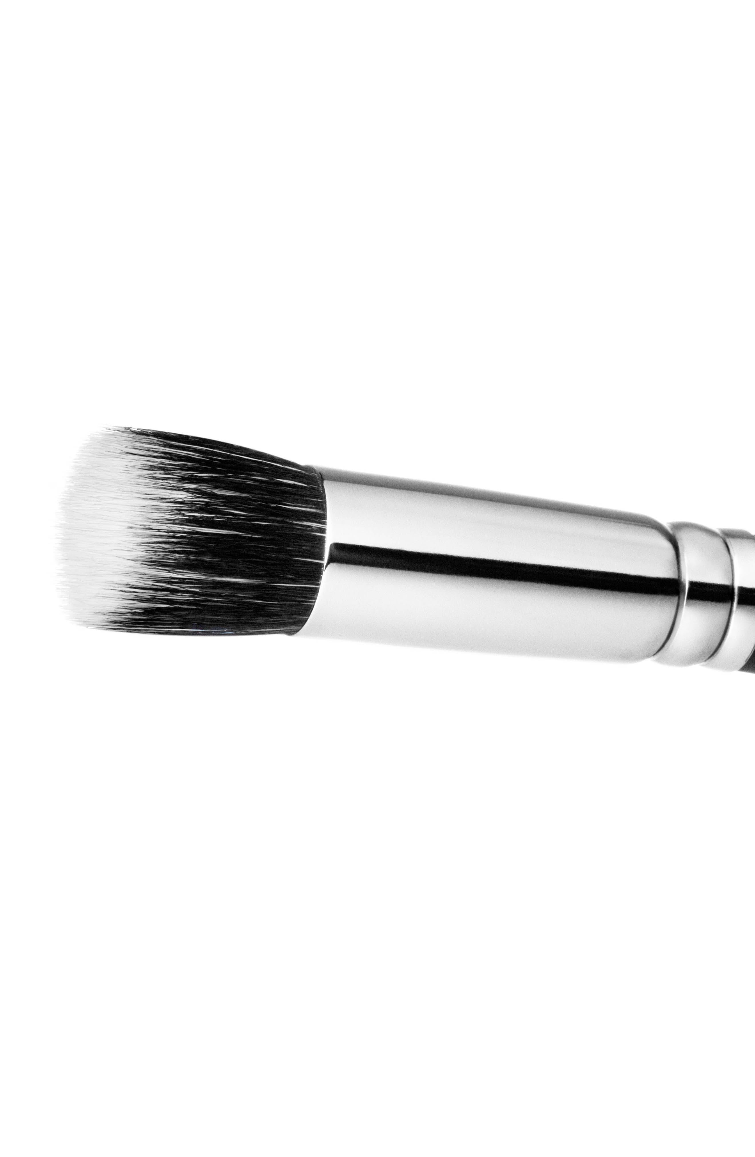 MAC 130S Synthetic Short Duo Fibre Brush,                             Alternate thumbnail 3, color,                             No Color