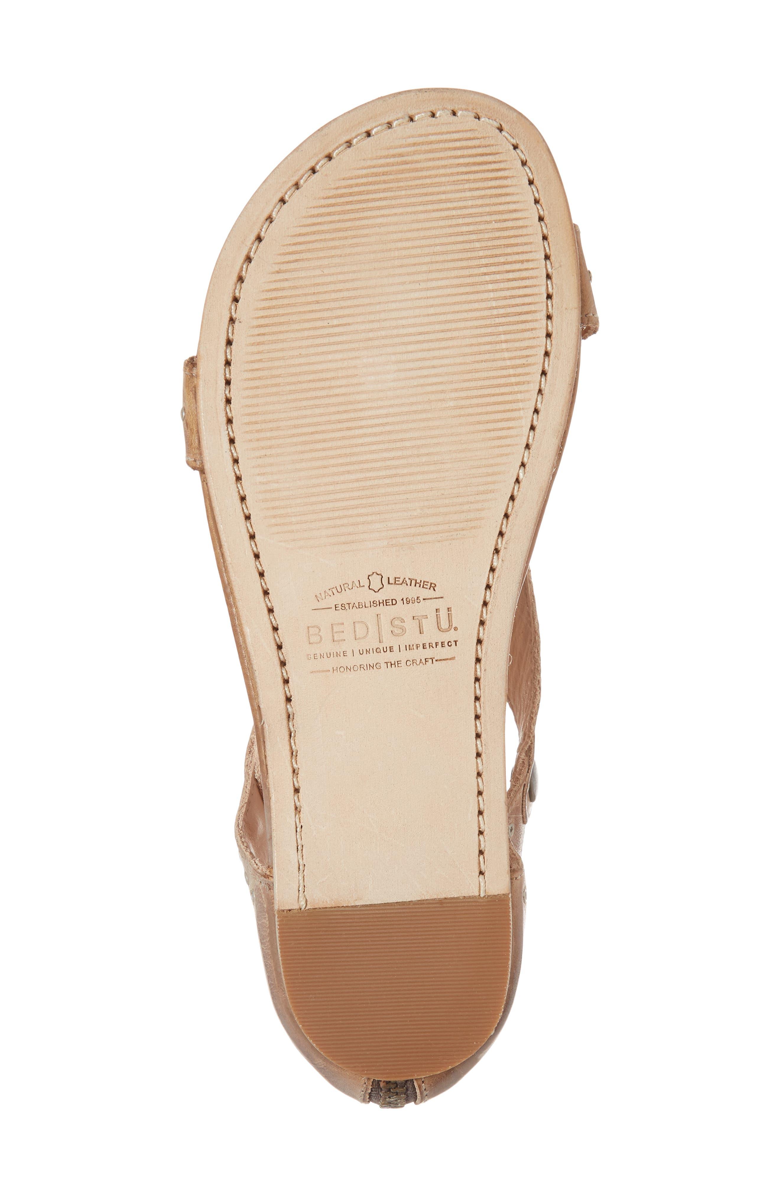 Soto G V-Strap Sandal,                             Alternate thumbnail 6, color,                             Tan Mason Leather