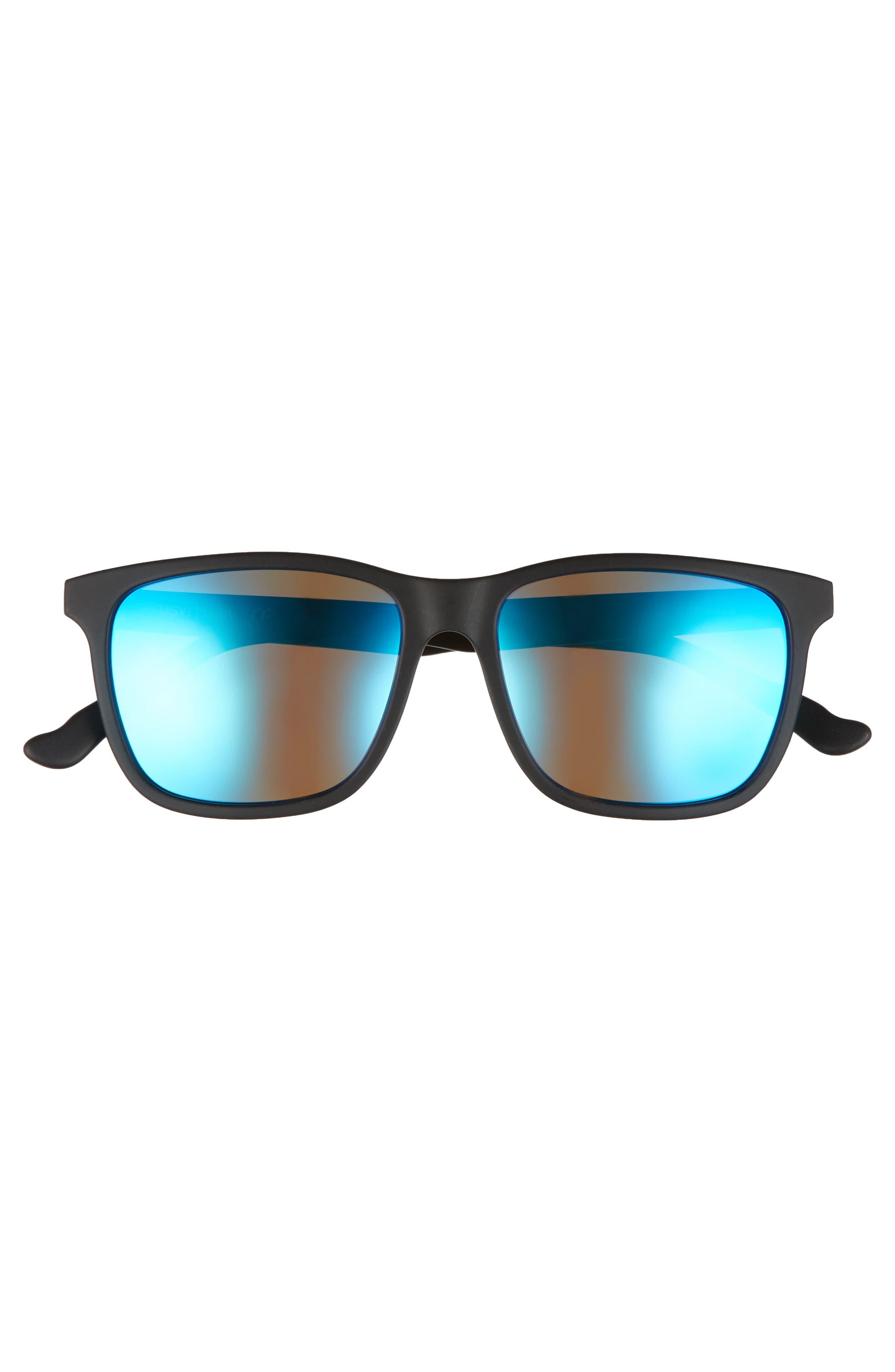 Uluwatu 52mm Polarized Sunglasses,                             Alternate thumbnail 3, color,                             Charcoal