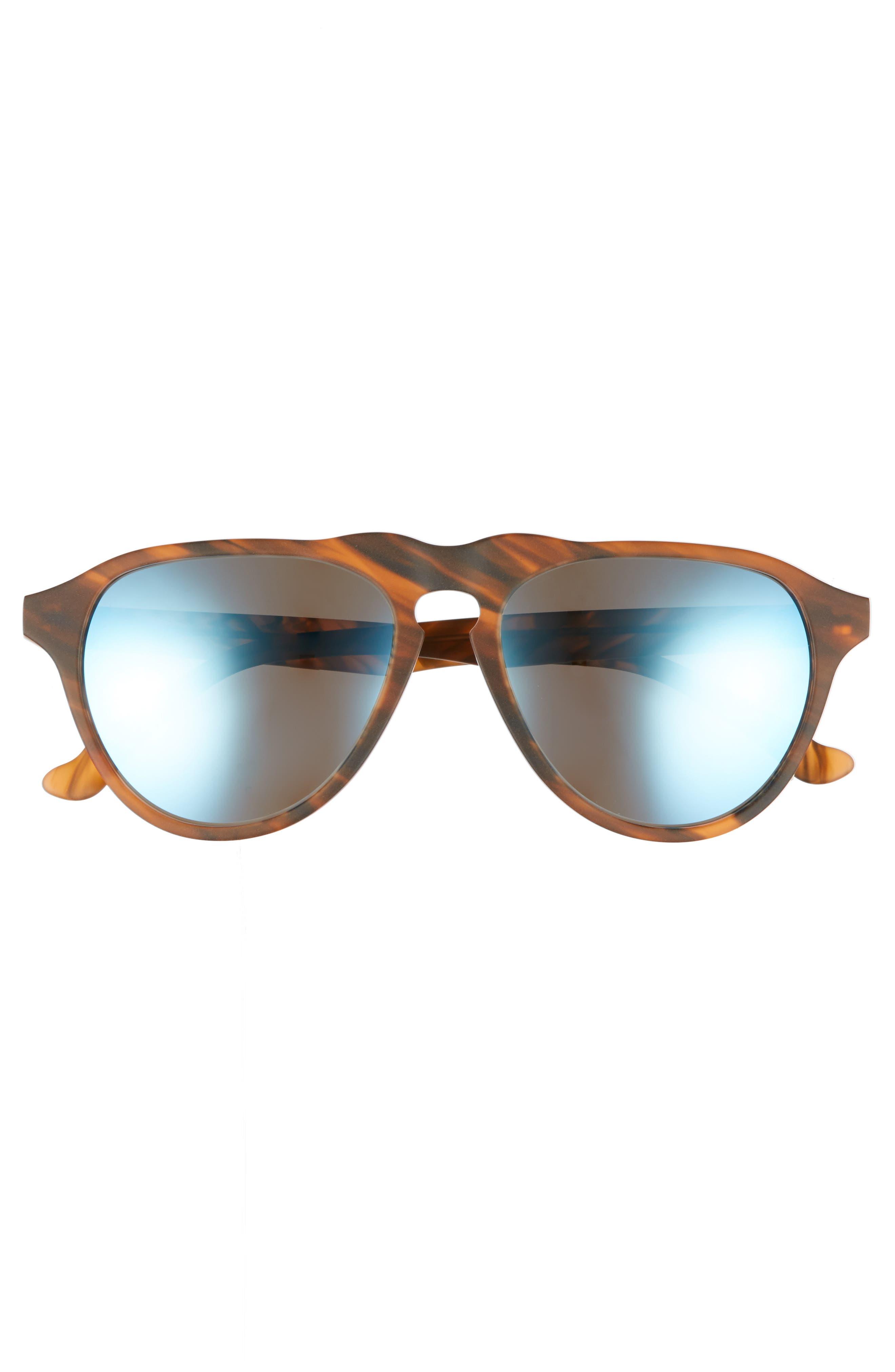 Alternate Image 3  - Maho Nashville 54mm Polarized Aviator Sunglasses