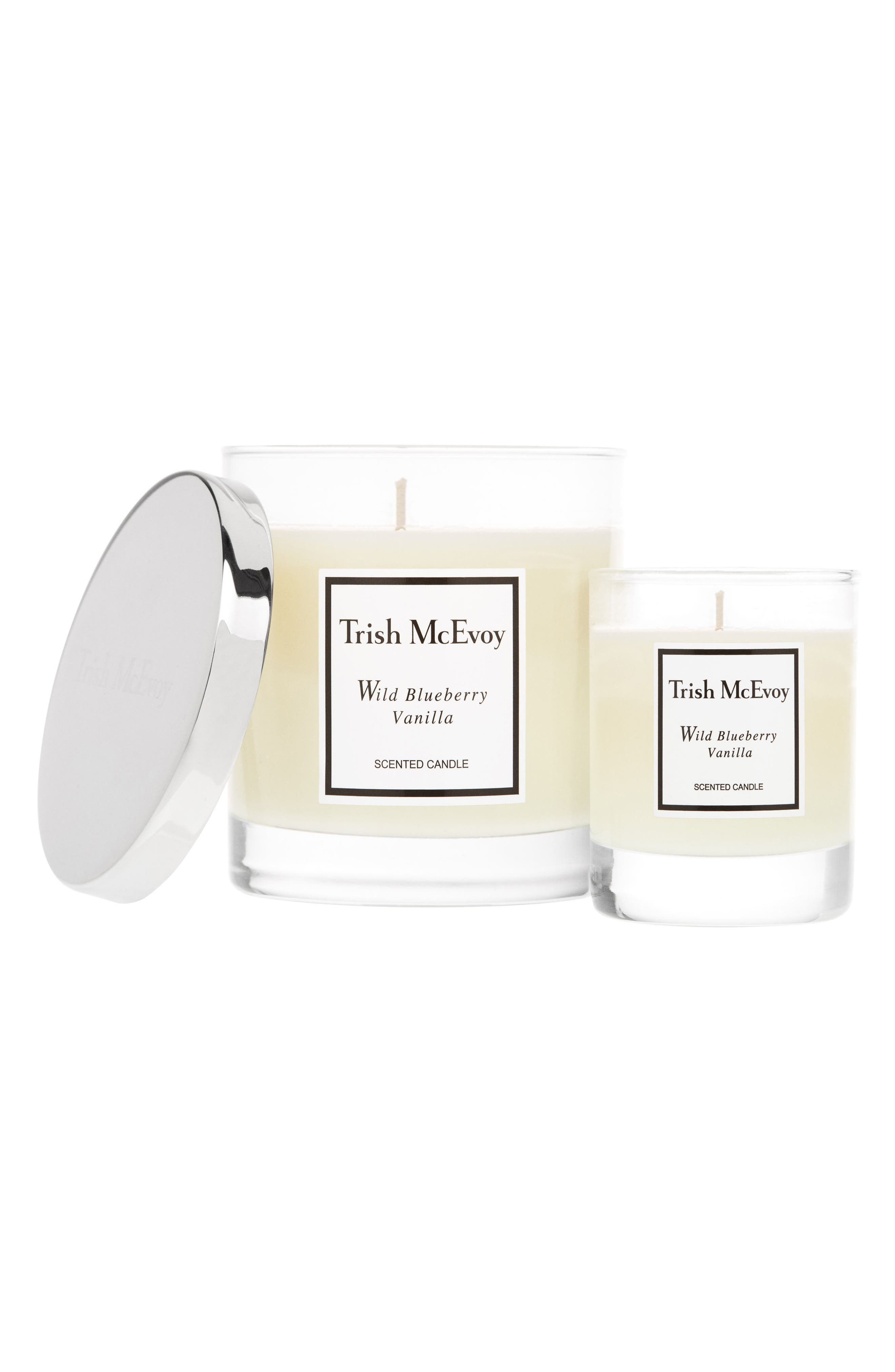 Heaven Scent Wild Blueberry Vanilla Candle Duo,                         Main,                         color, No Color