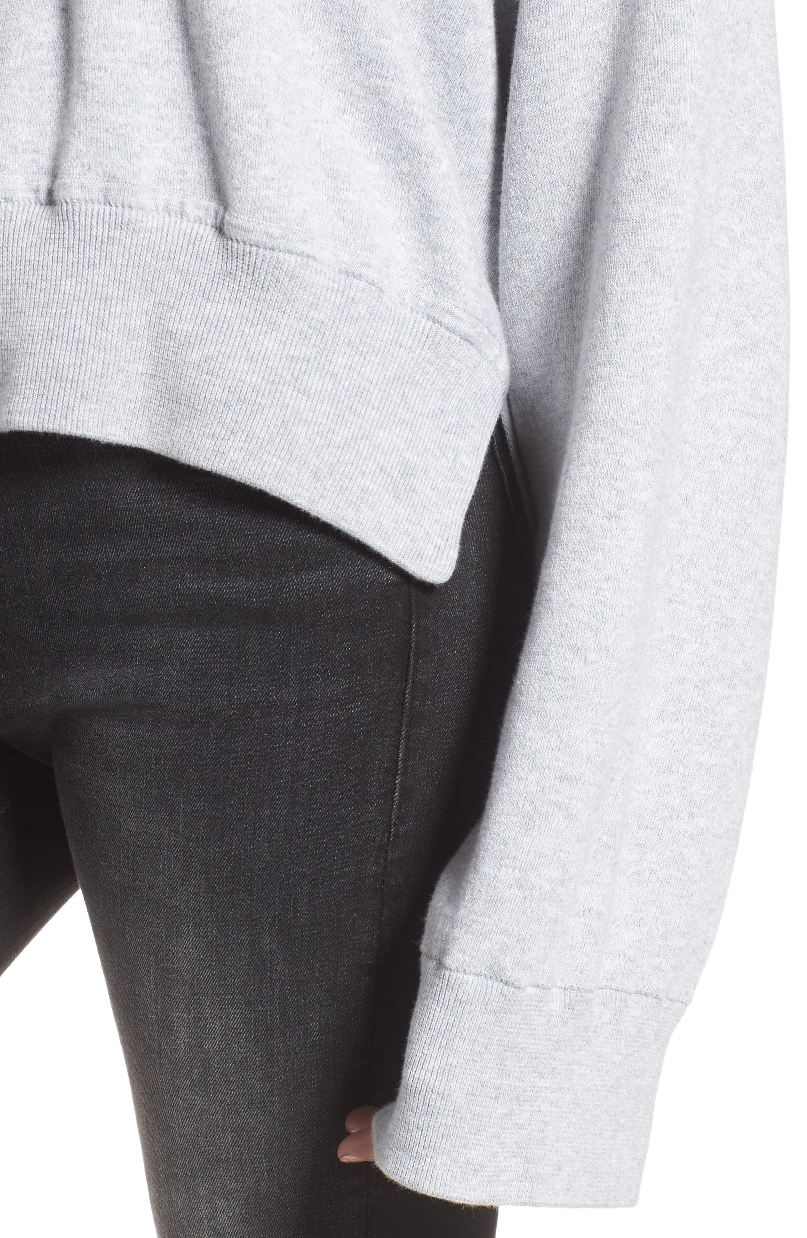 Lea Sweatshirt,                             Alternate thumbnail 4, color,                             Grey