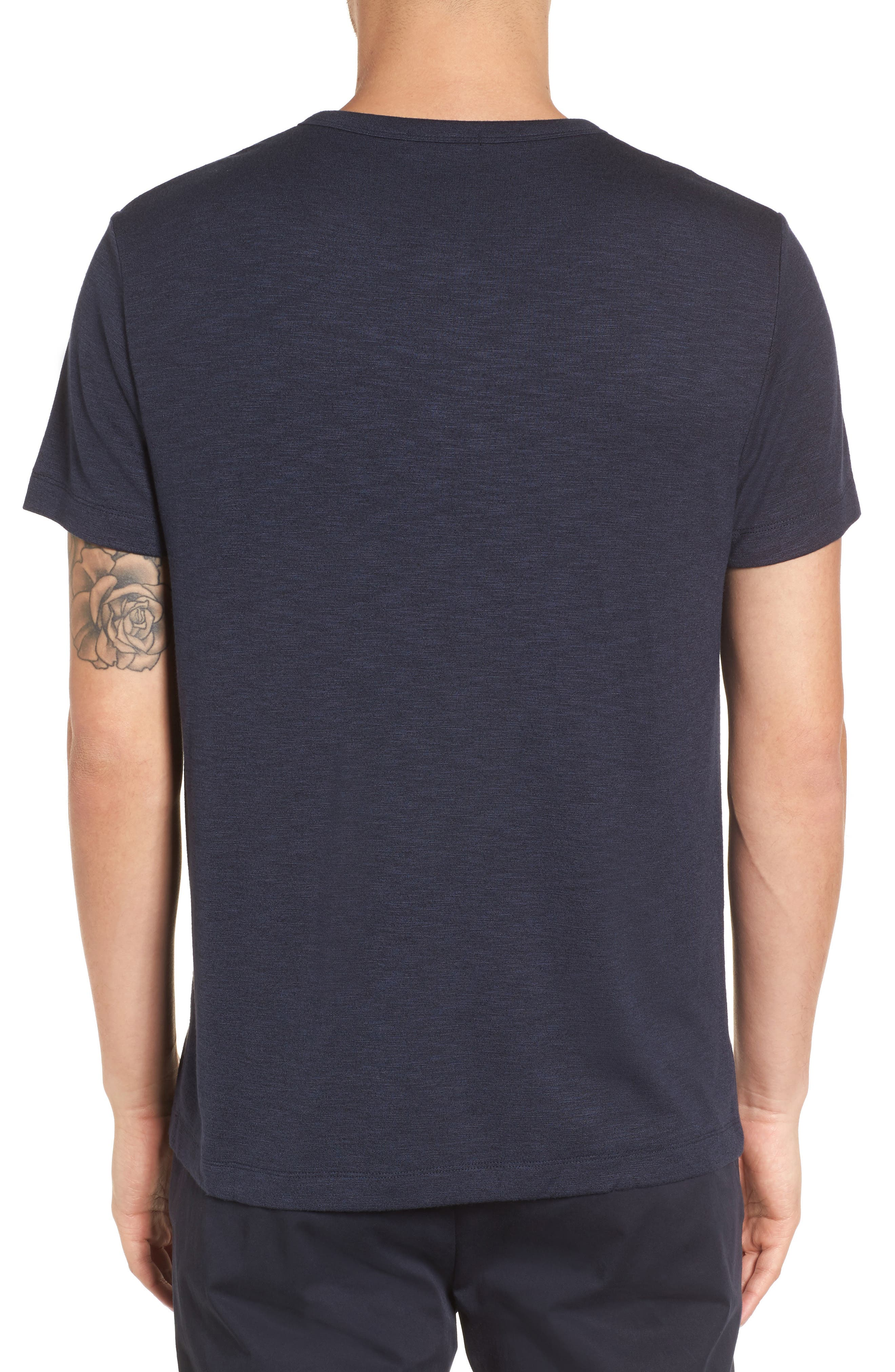 Gaskell Anemone Slim Fit Henley,                             Alternate thumbnail 3, color,                             Eclipse Multi