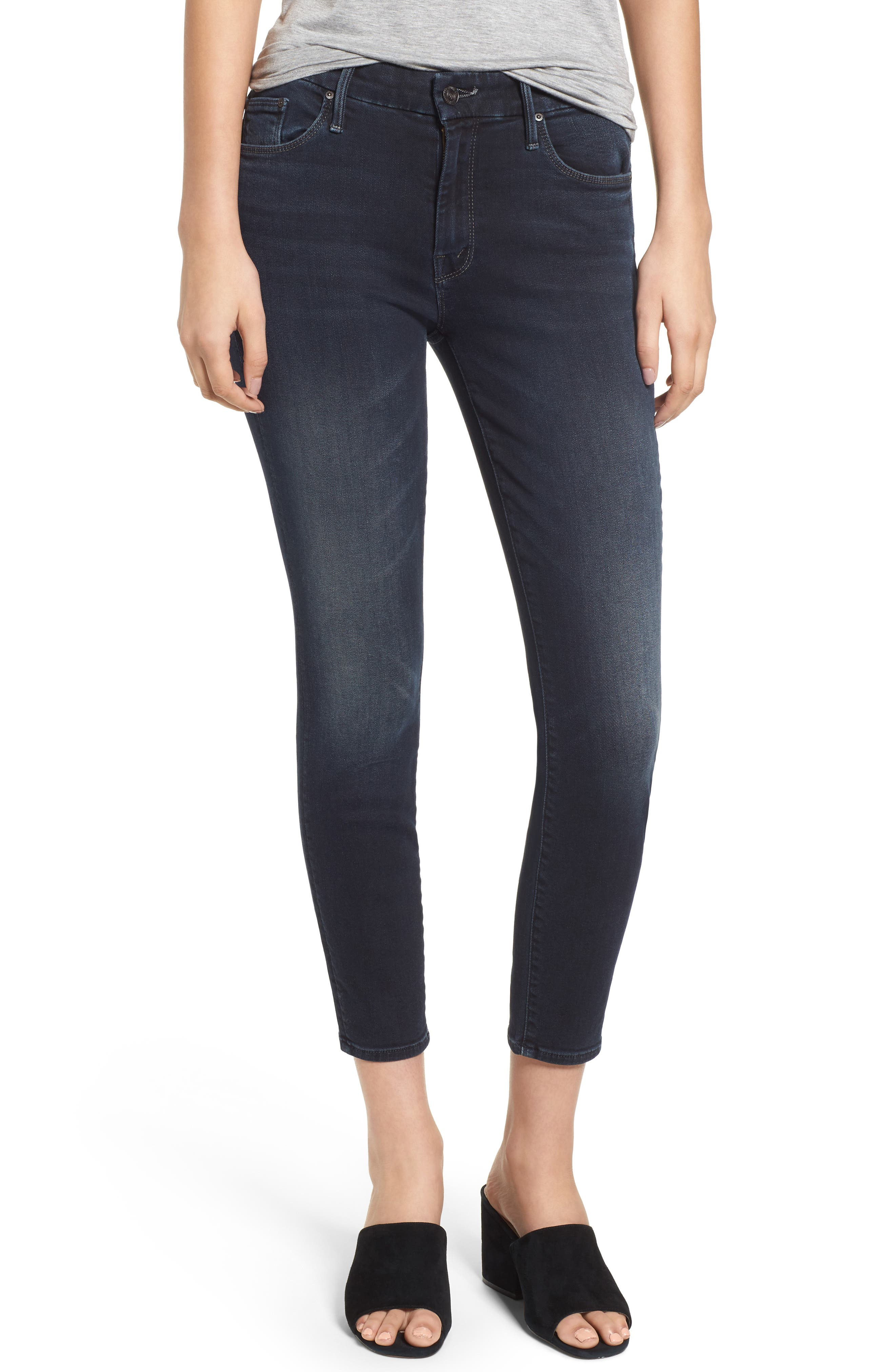MOTHER The Looker Crop Skinny Jeans (Last Call)