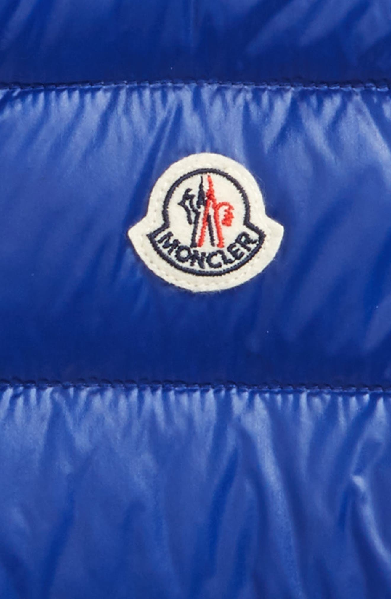 Guilt Down Puffer Vest,                             Alternate thumbnail 2, color,                             Bright Blue