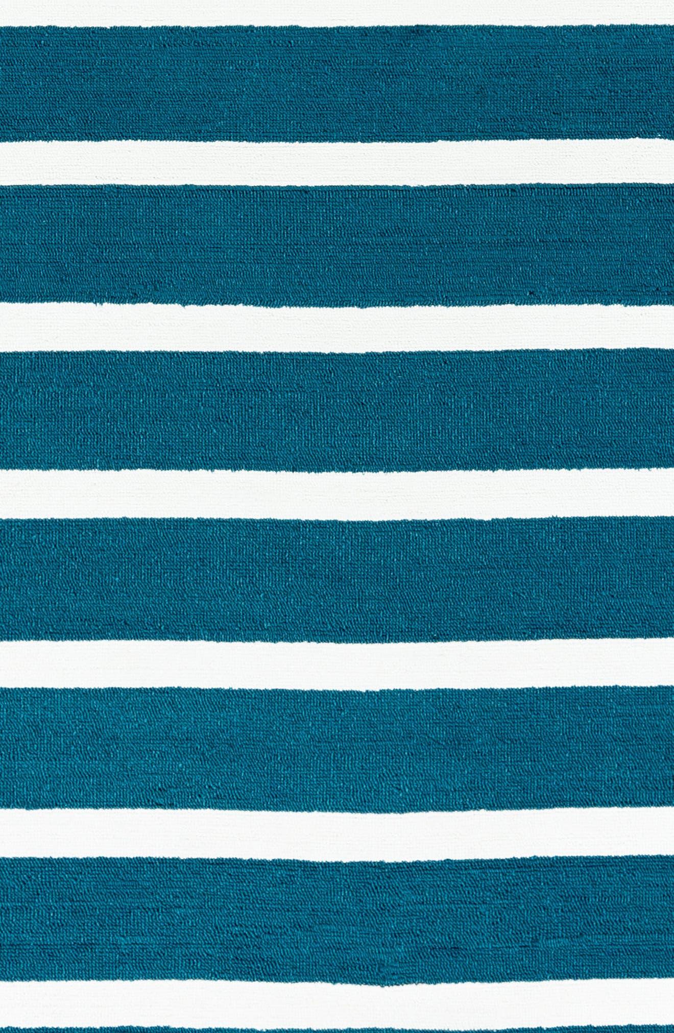 Azzura Hill Hana Rug,                             Alternate thumbnail 4, color,                             Marine Blue
