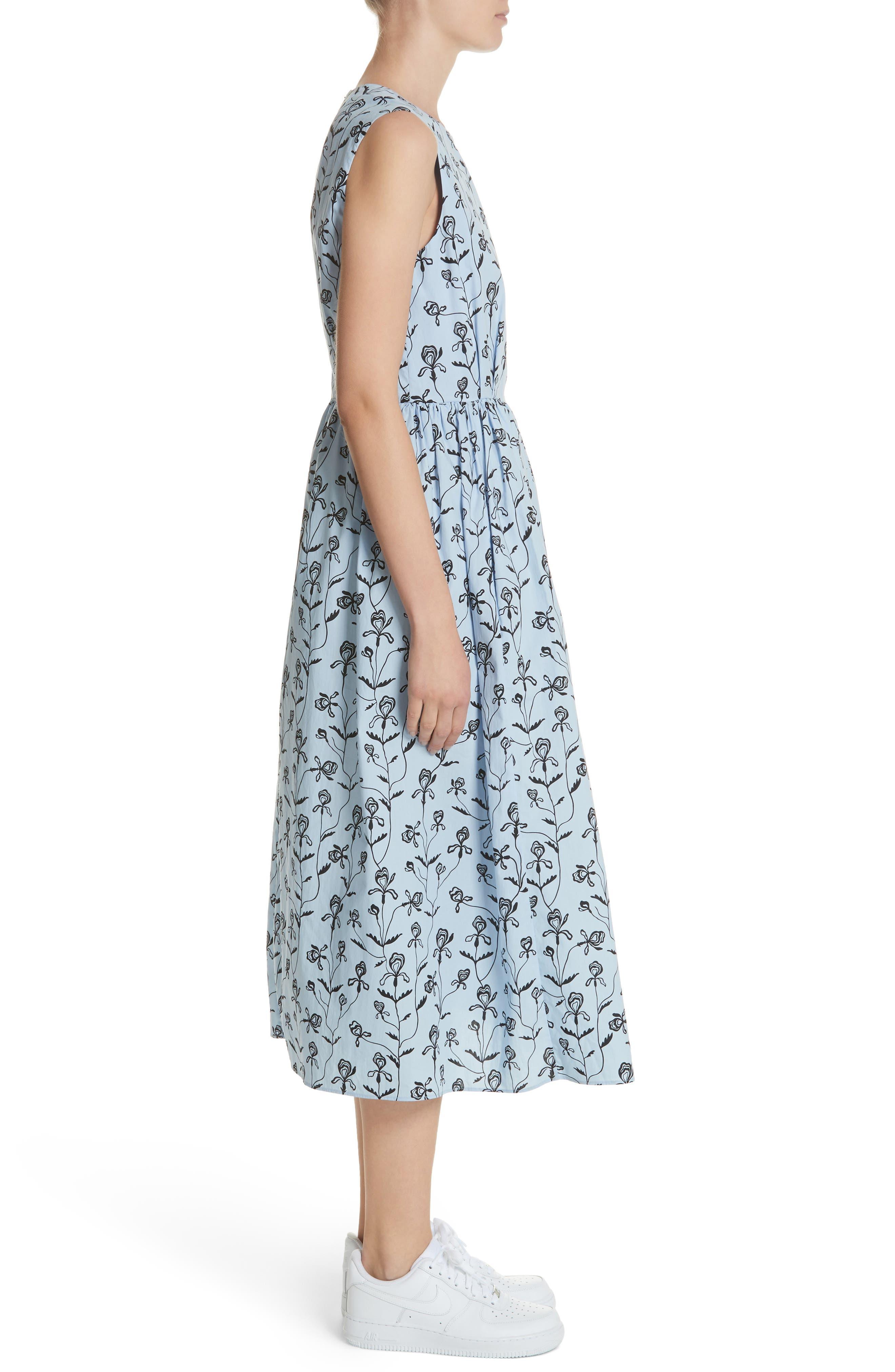 Alternate Image 3  - Sofie D'Hoore Floral Print Sleeveless Dress