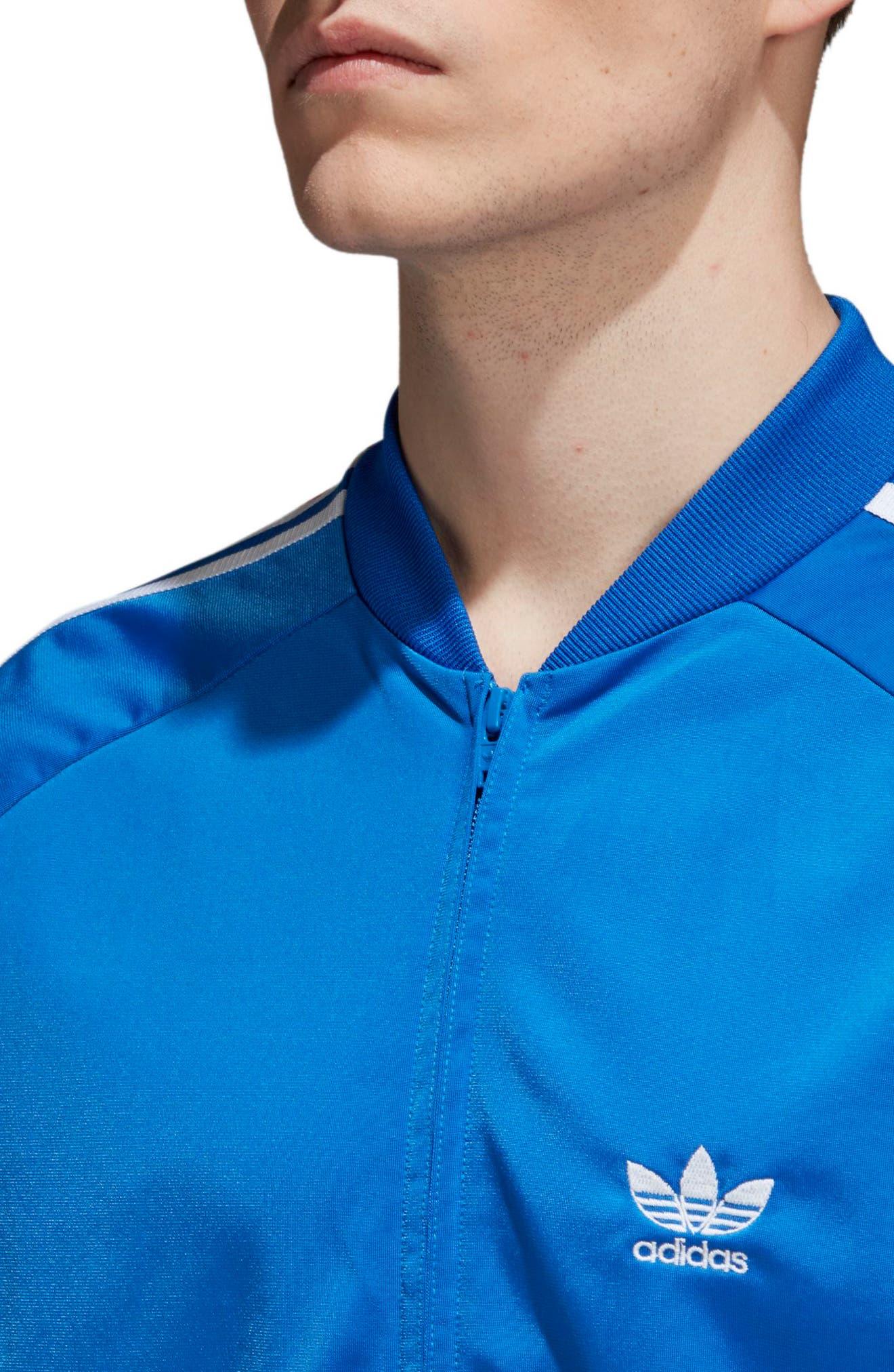 SST Track Jacket,                             Alternate thumbnail 4, color,                             Blue