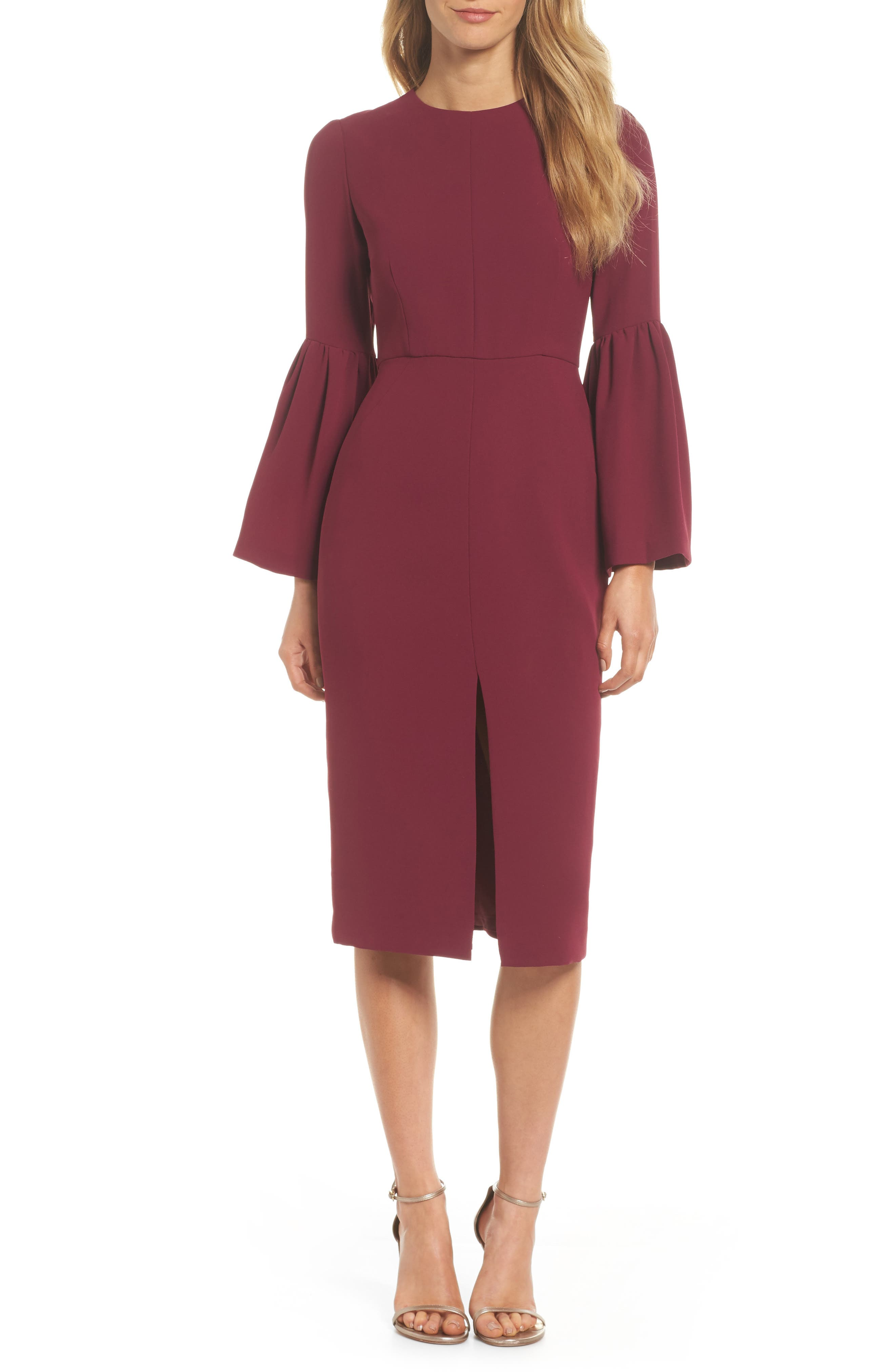 Main Image - Jill Jill Stuart Bell Sleeve Dress