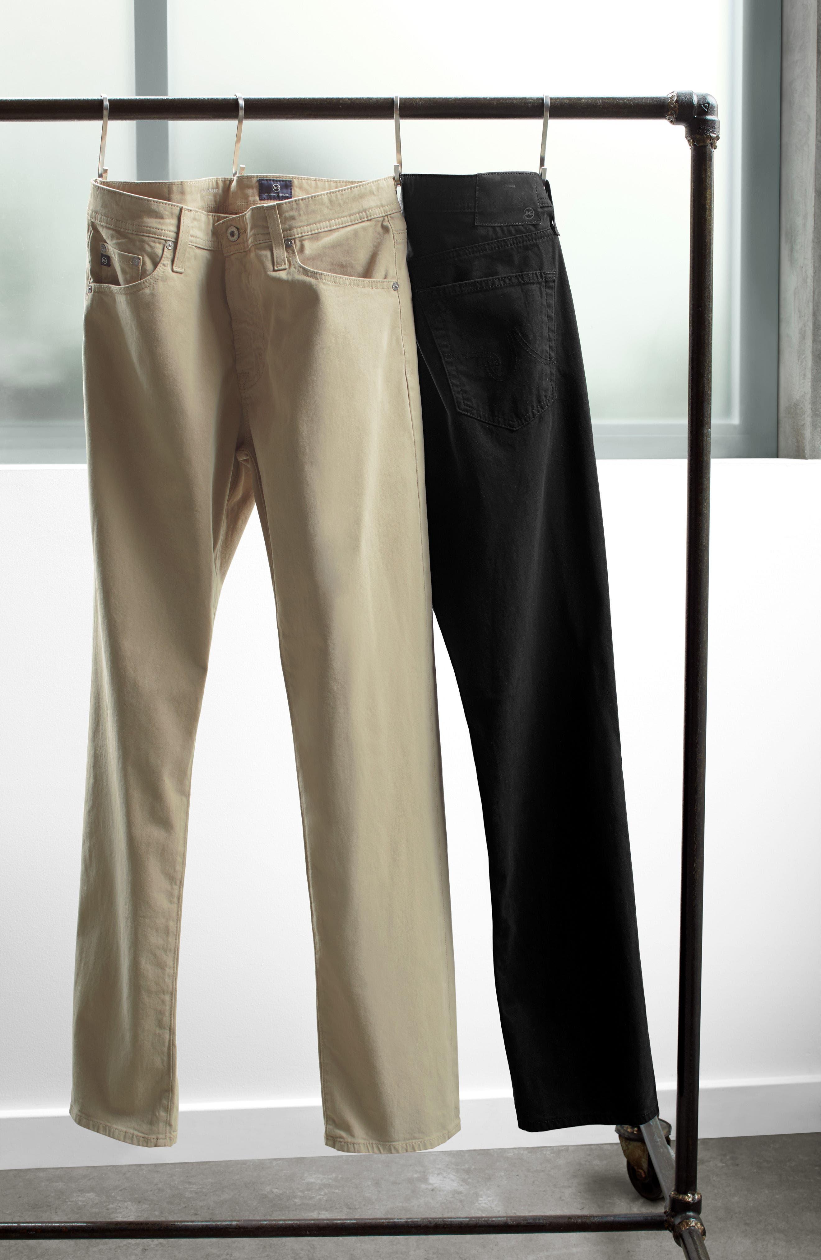 Everett SUD Slim Straight Fit Pants,                             Alternate thumbnail 8, color,