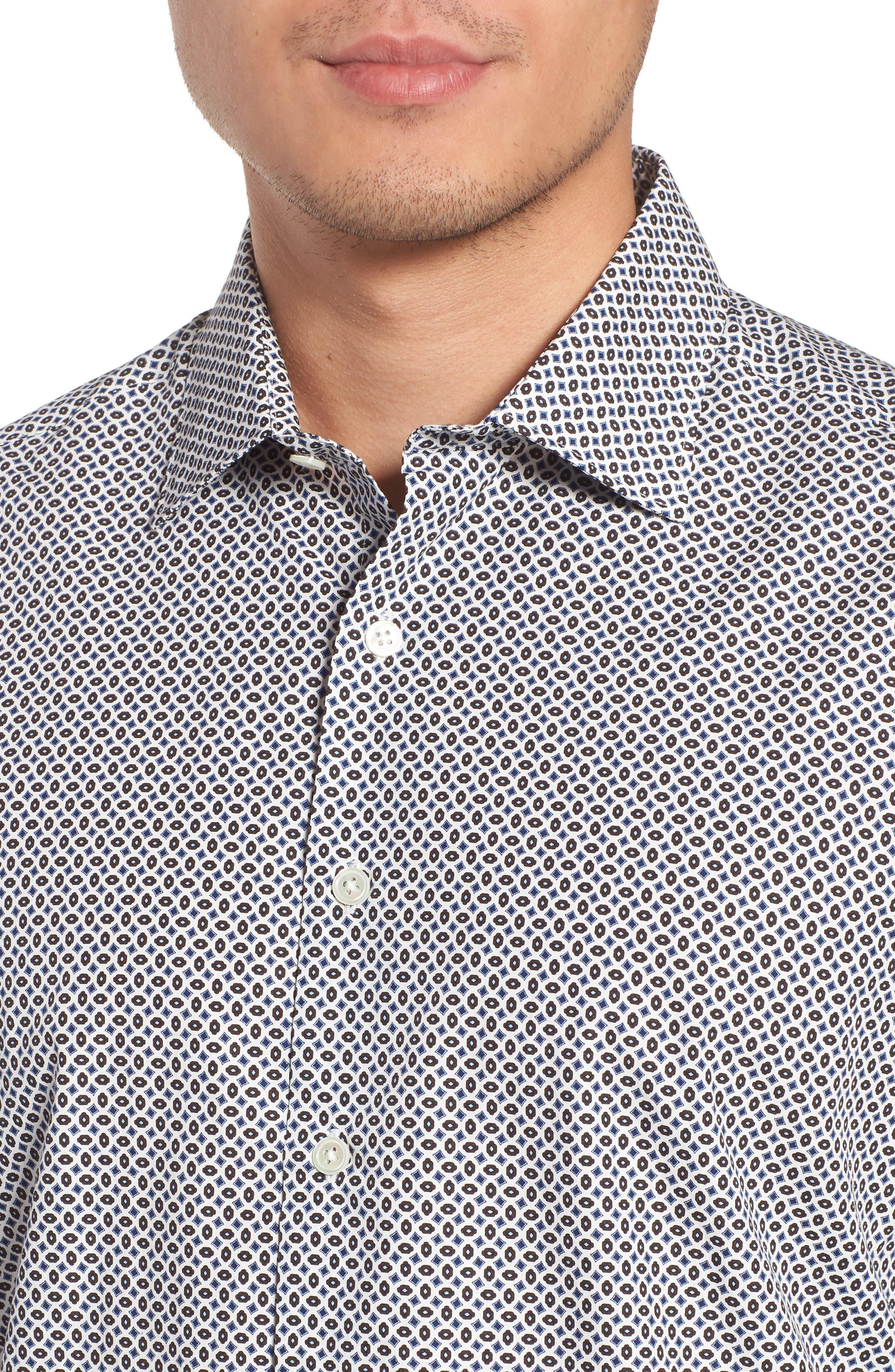 Oak House Regular Fit Sport Shirt,                             Alternate thumbnail 2, color,                             Ivory