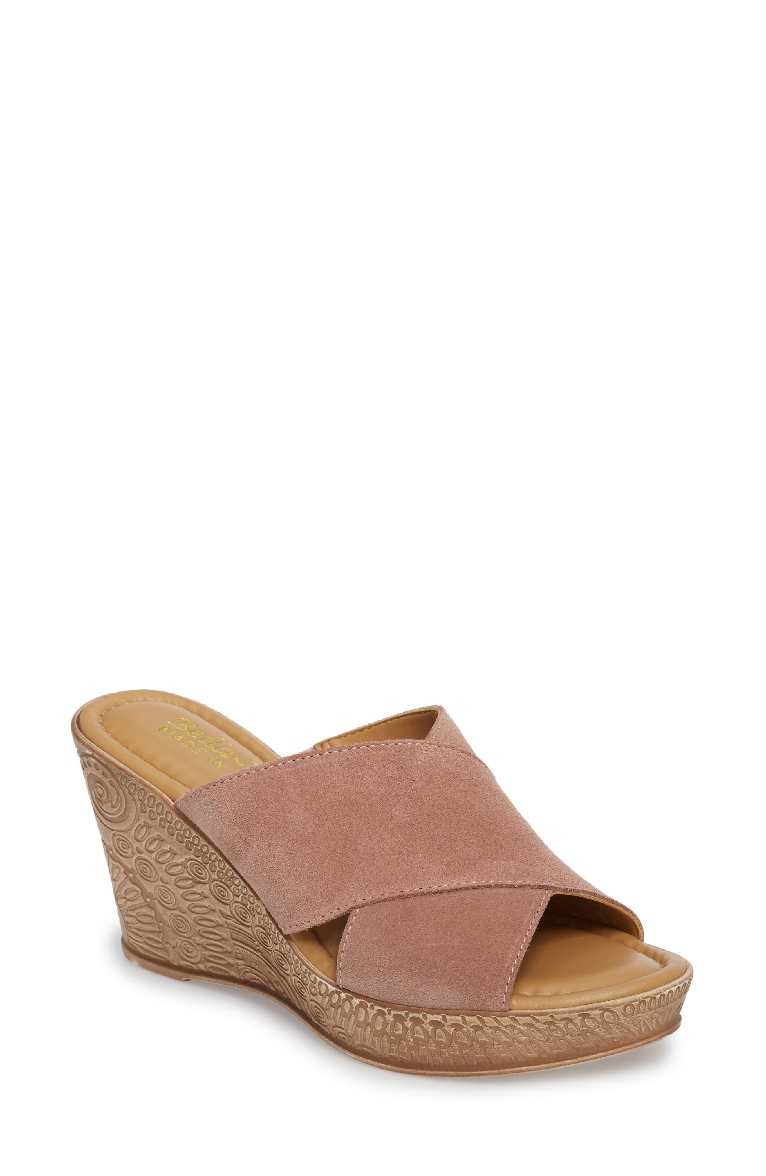 Bella Vita Edi Wedge Sandal (Women)