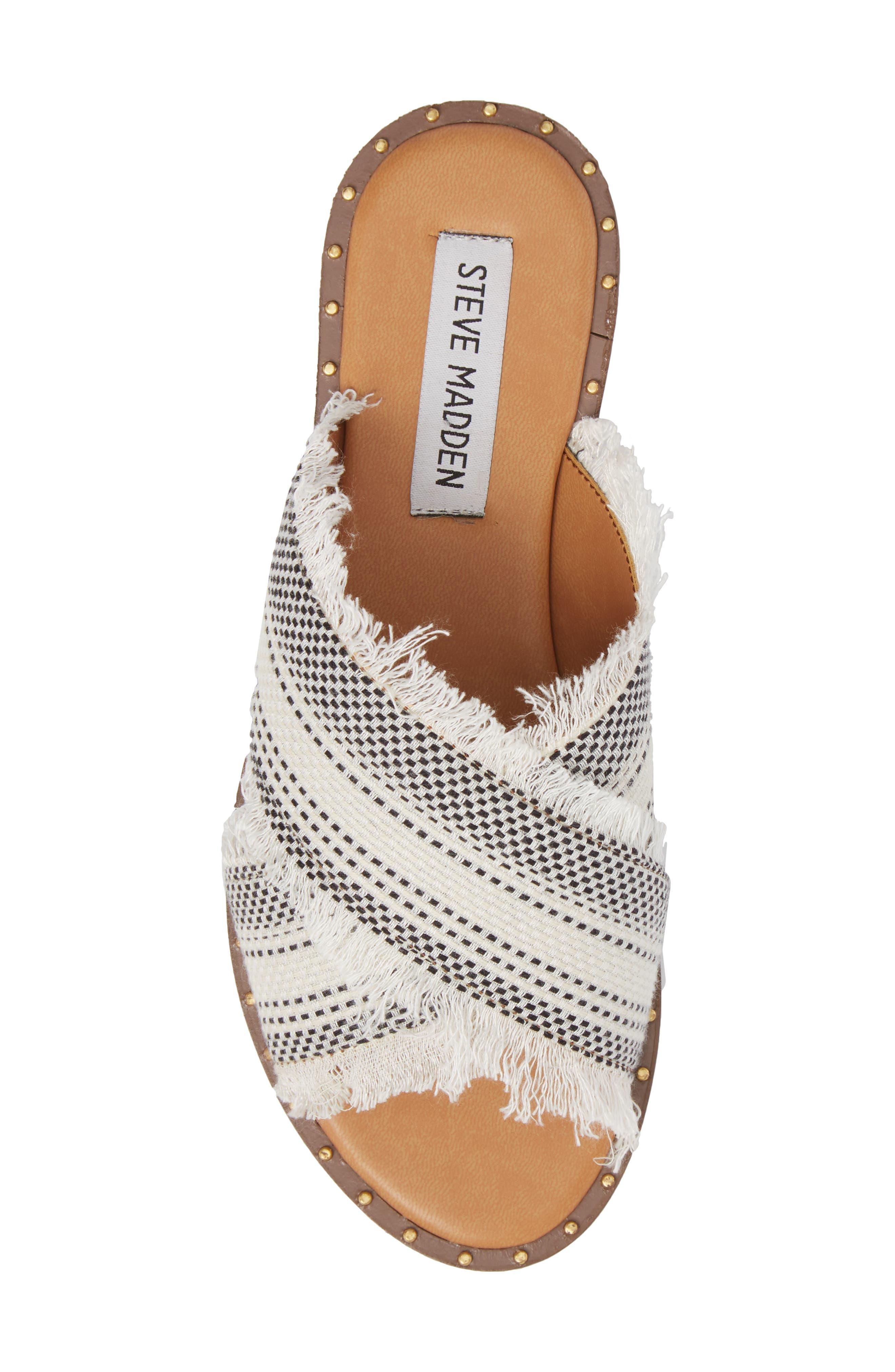 Riva Slide Sandal,                             Alternate thumbnail 5, color,                             White Multi