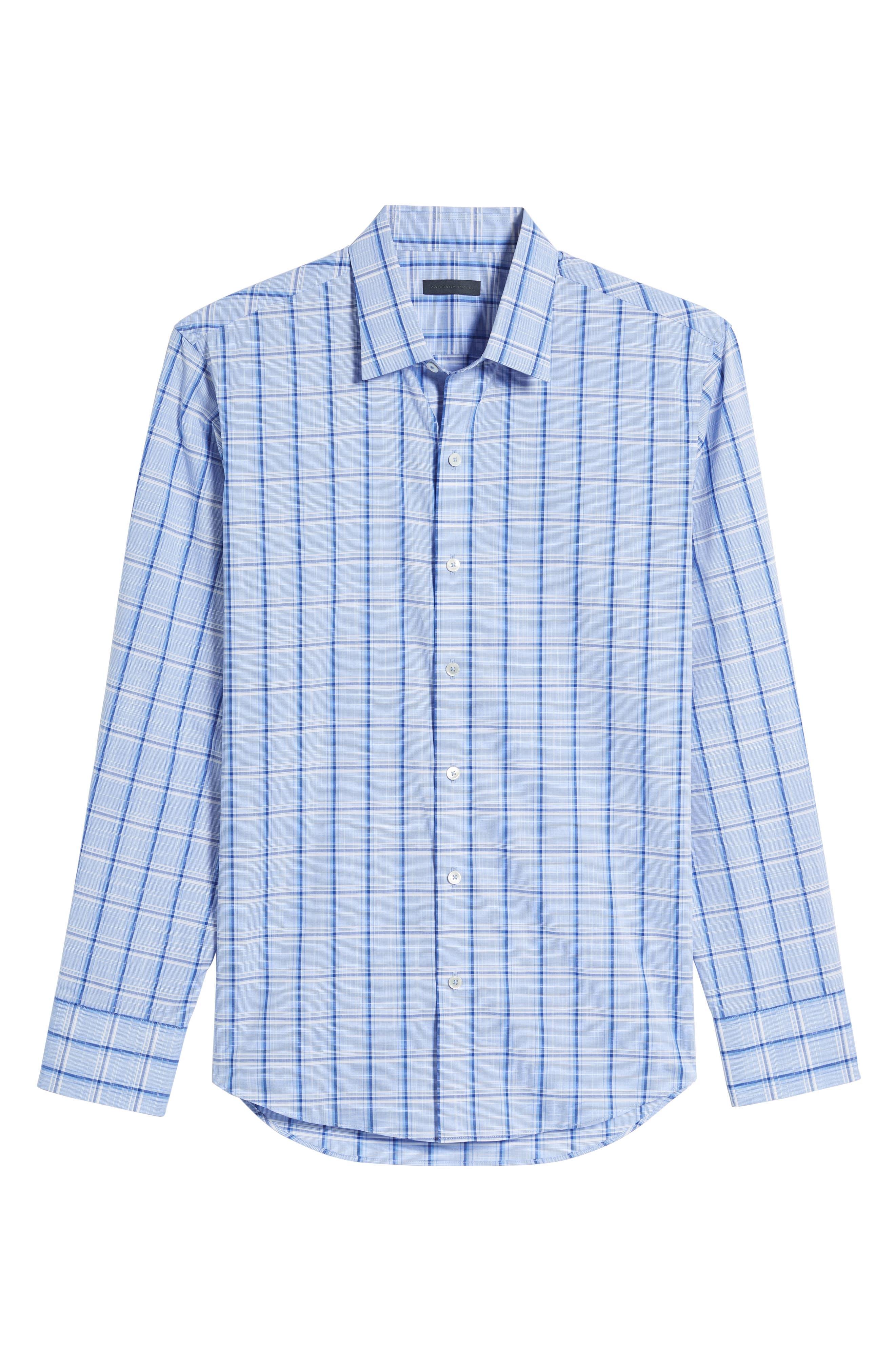 Alternate Image 6  - Zachary Prell Washington Plaid Sport Shirt