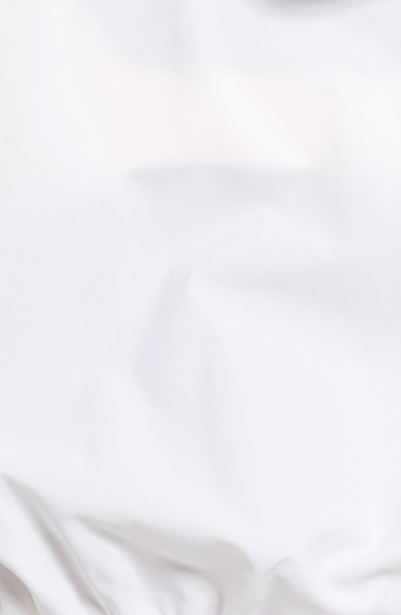En Pointe Half Zip Pullover,                             Alternate thumbnail 6, color,                             Puma White