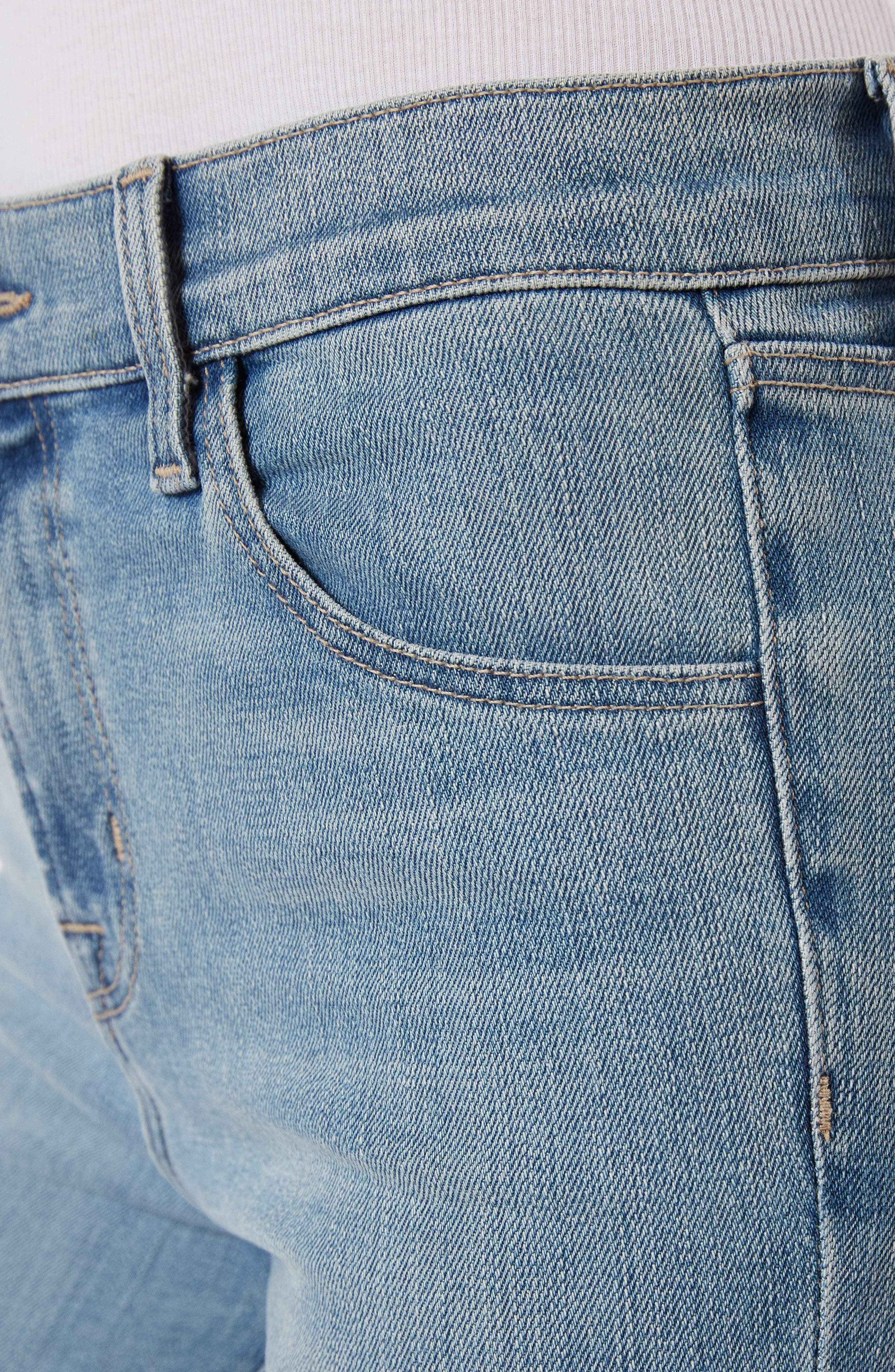 Alana Crop Skinny Jeans,                             Alternate thumbnail 5, color,                             Surge