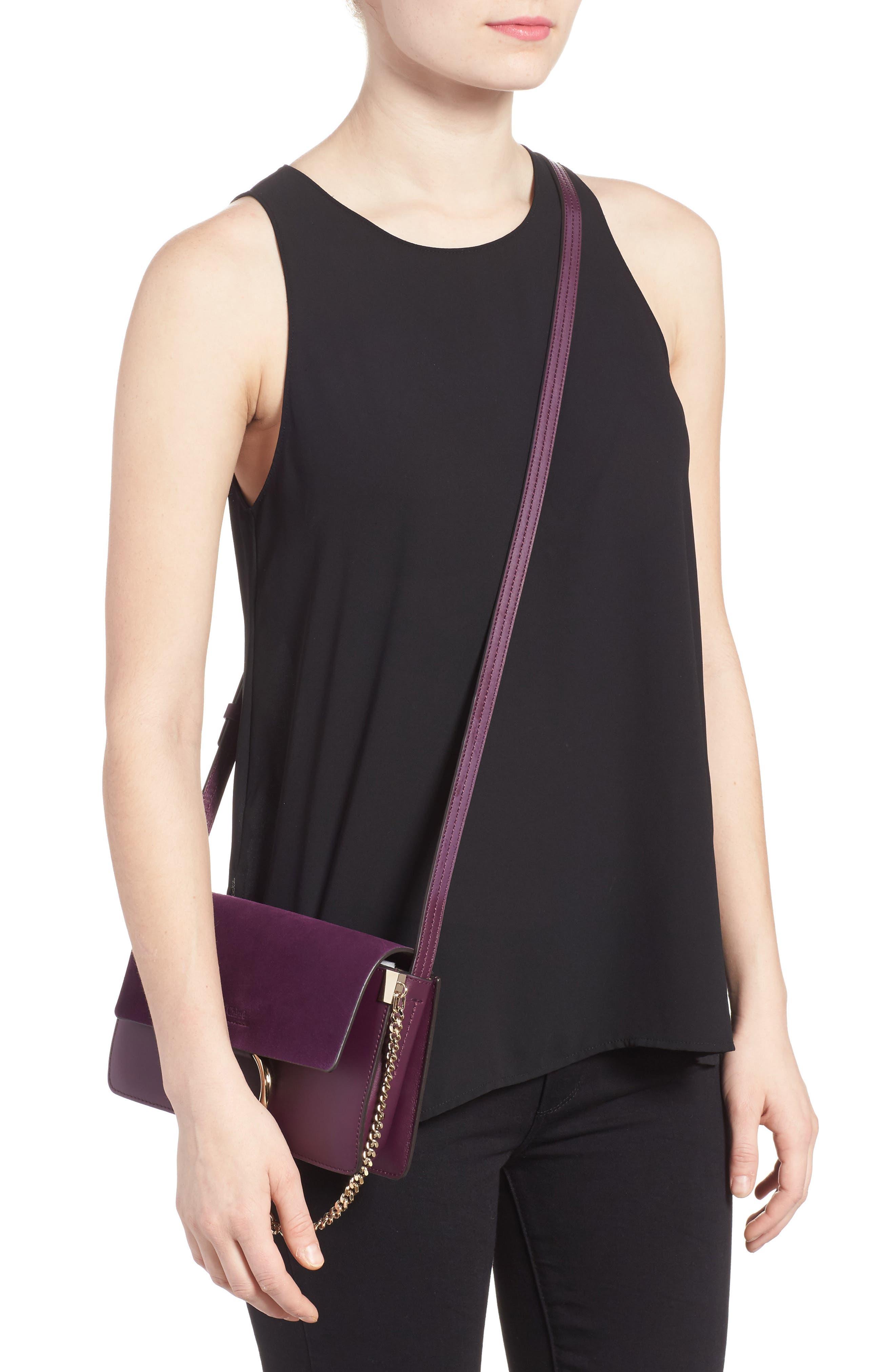 Alternate Image 2  - Chloé Small Faye Leather Shoulder Bag