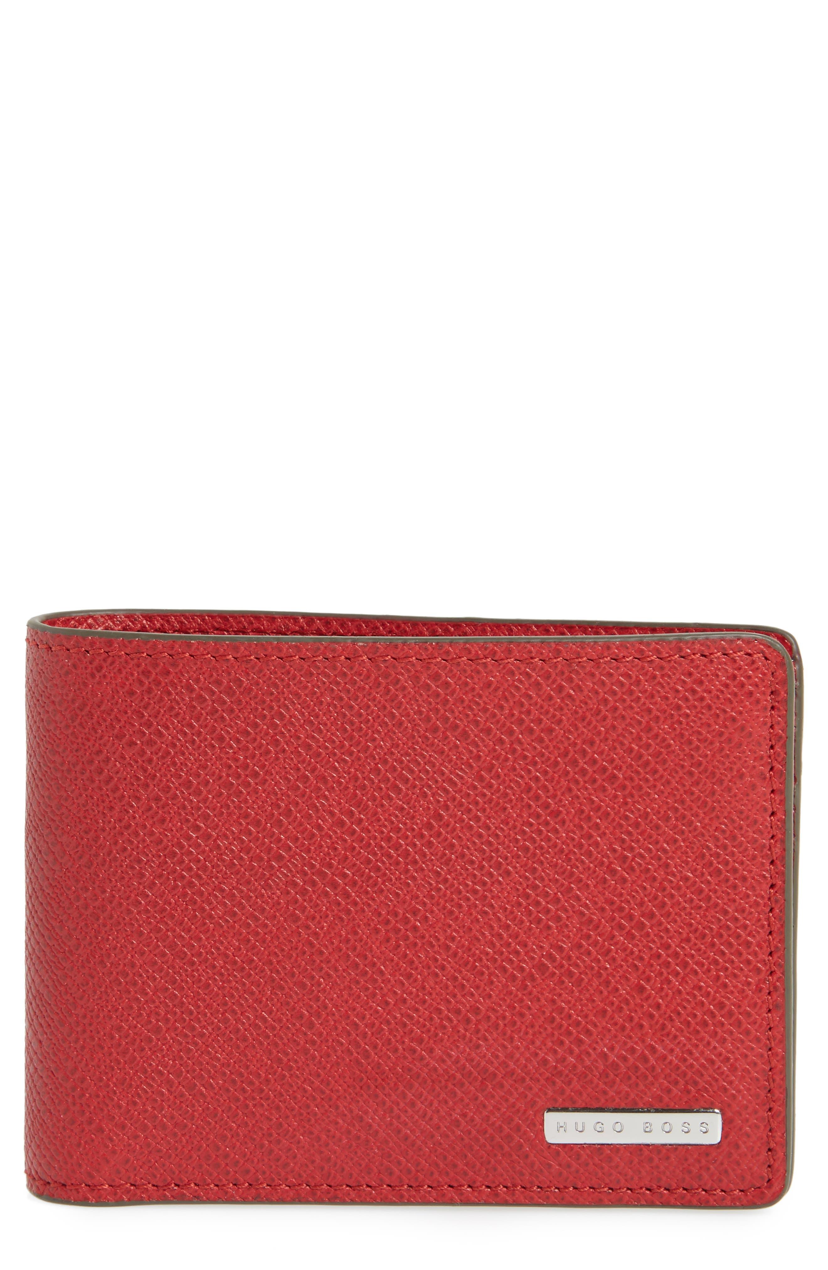 Main Image - BOSS 'Signature' Bifold Wallet