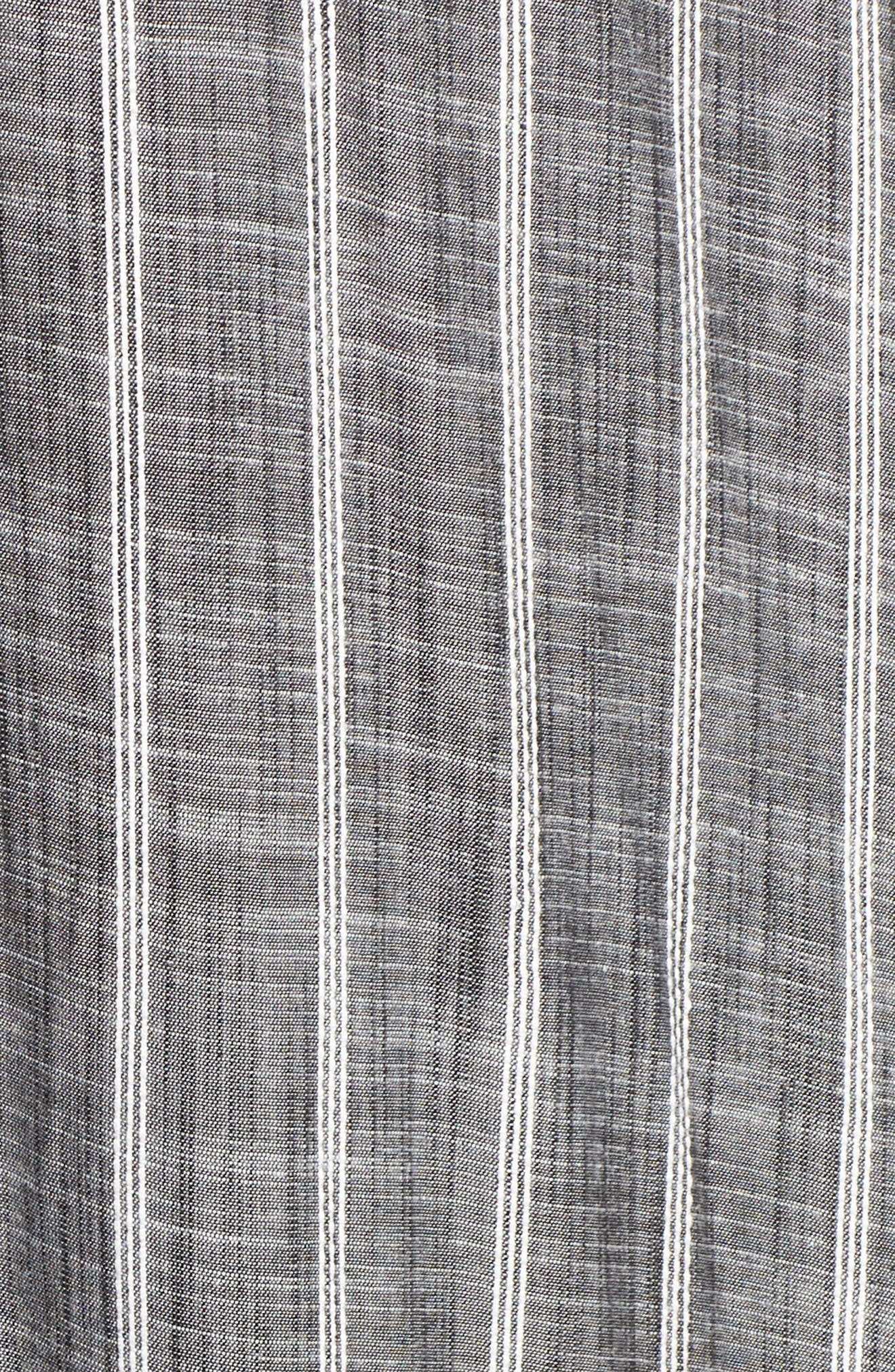 Cover-Up Maxi Dress,                             Alternate thumbnail 5, color,                             Grey