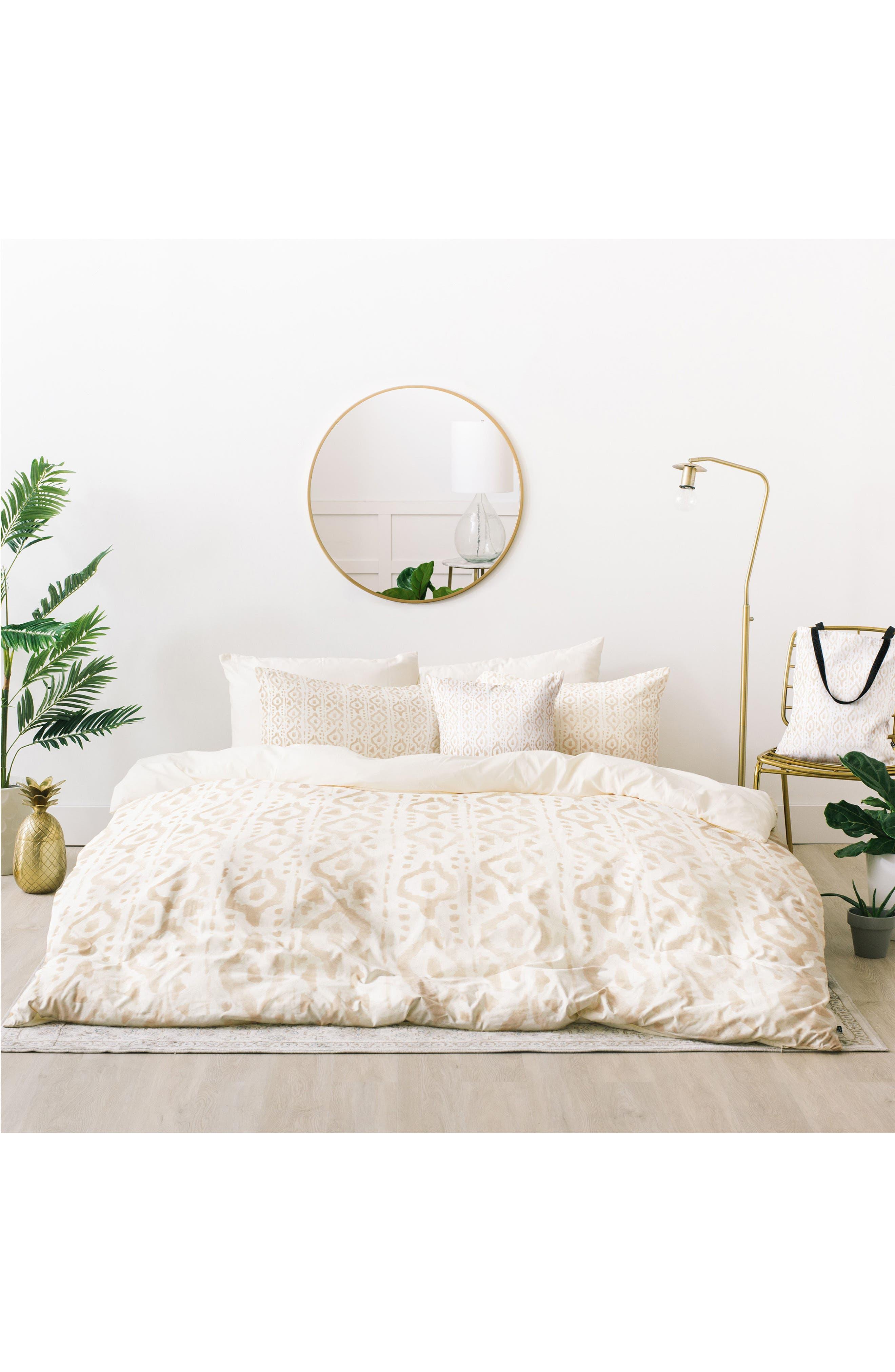 Deny Designs Wonder Forest Desert Bed In A Bag Duvet Cover, Sham U0026 Accent  Pillow Set