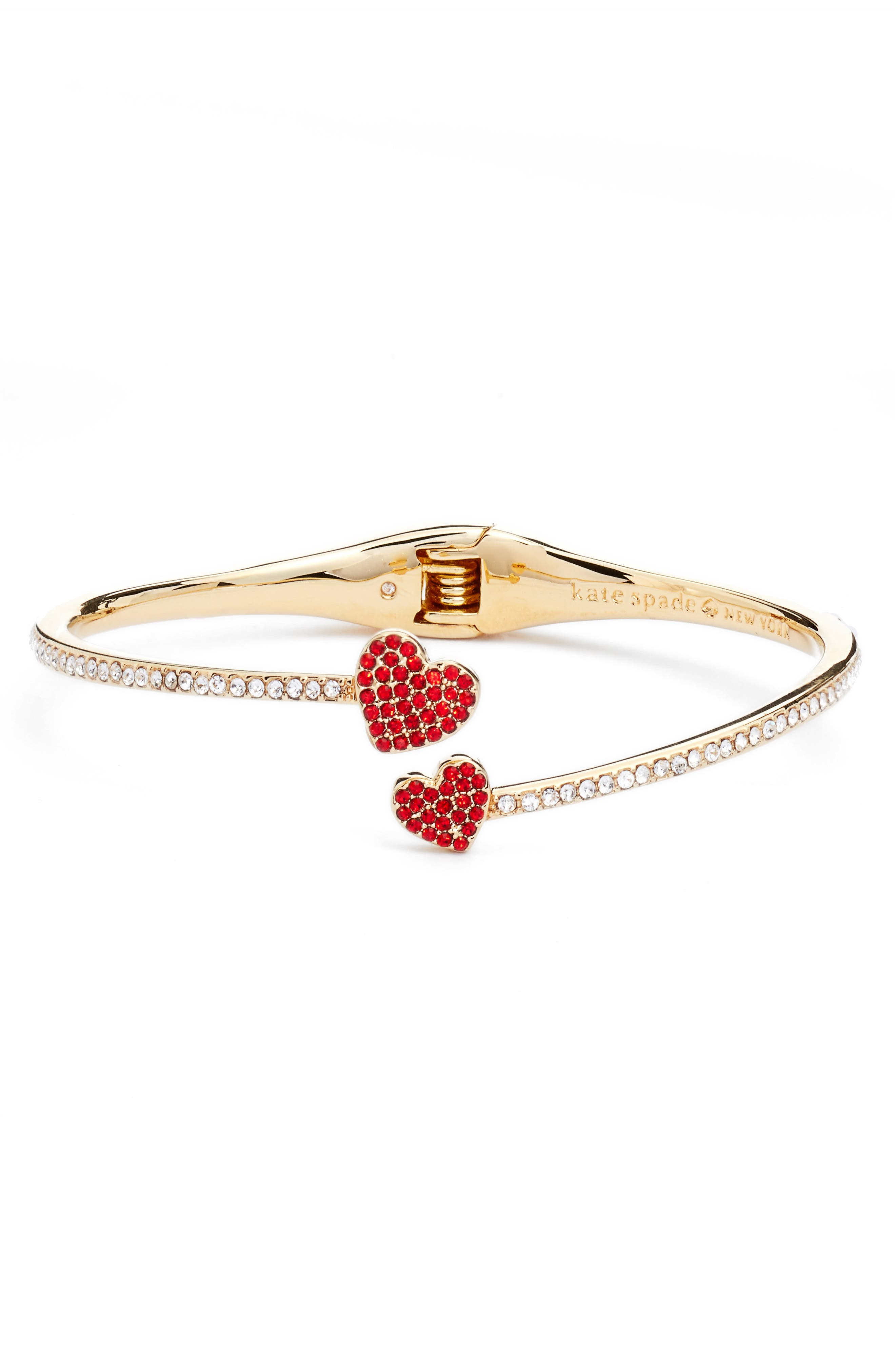 Main Image - kate spade new york yours truly pavé crystal cuff