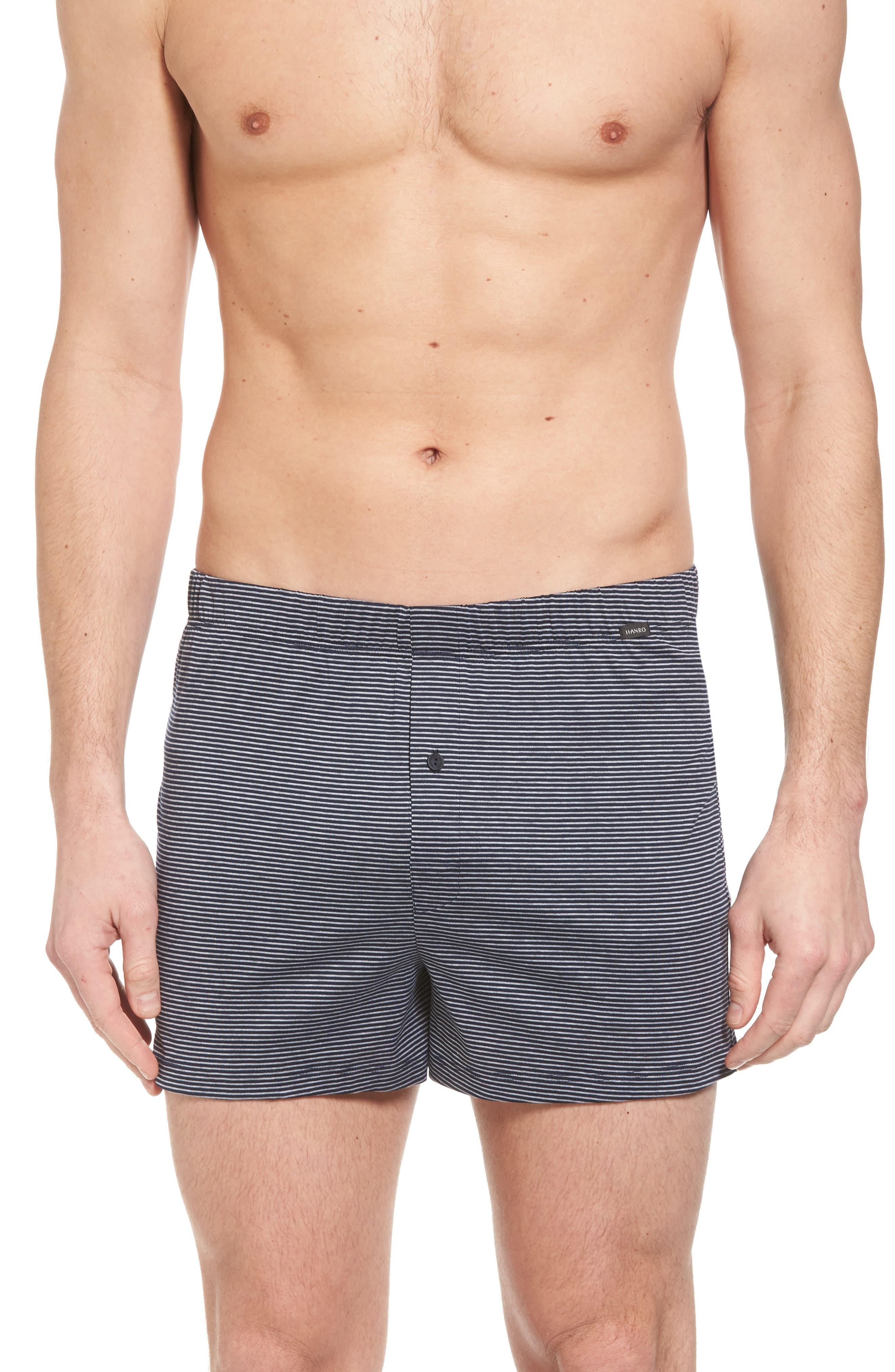 Hanro Sporty Stripe Cotton Boxers