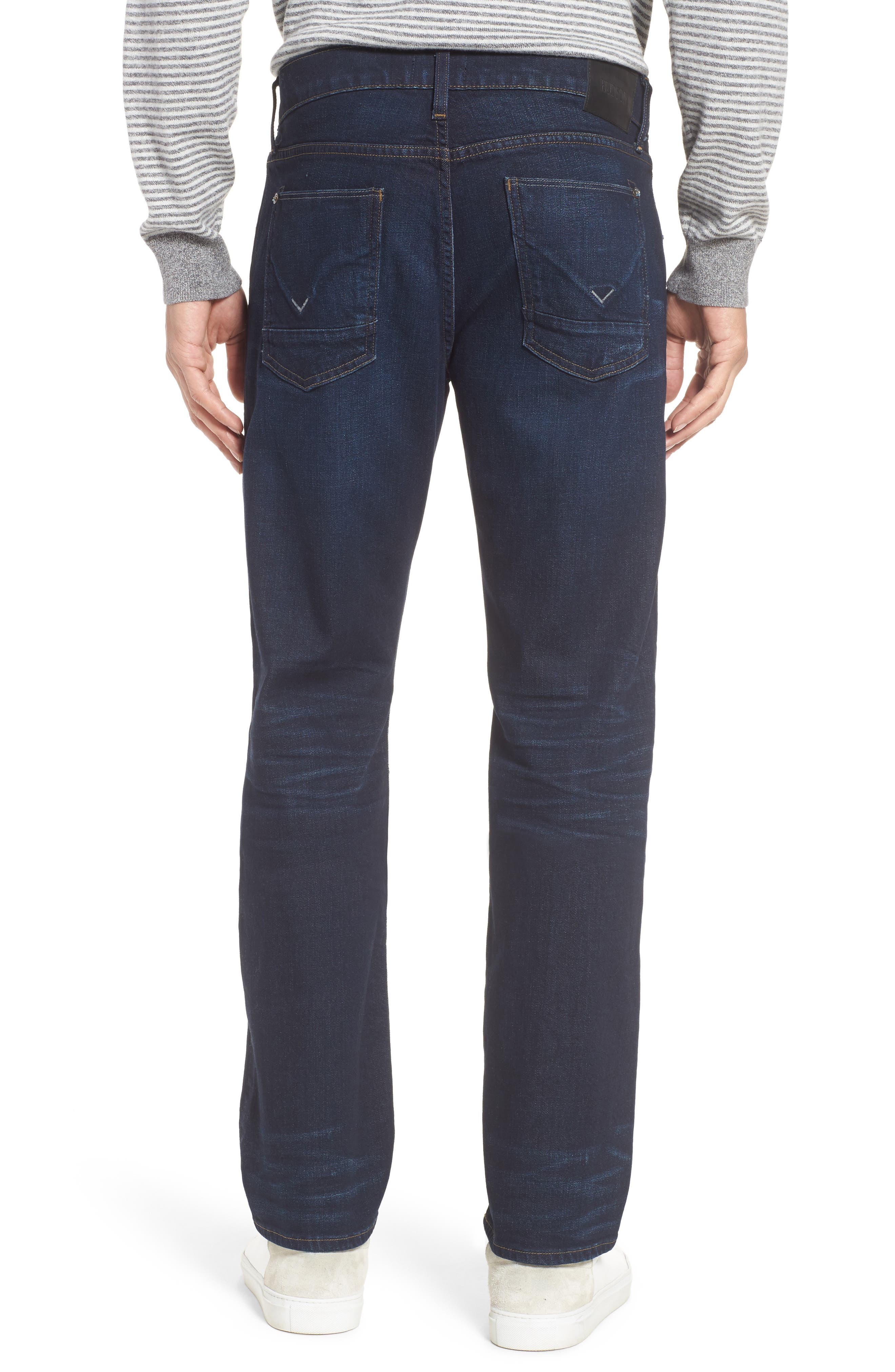 Byron Slim Straight Fit Jeans,                             Alternate thumbnail 2, color,                             Session
