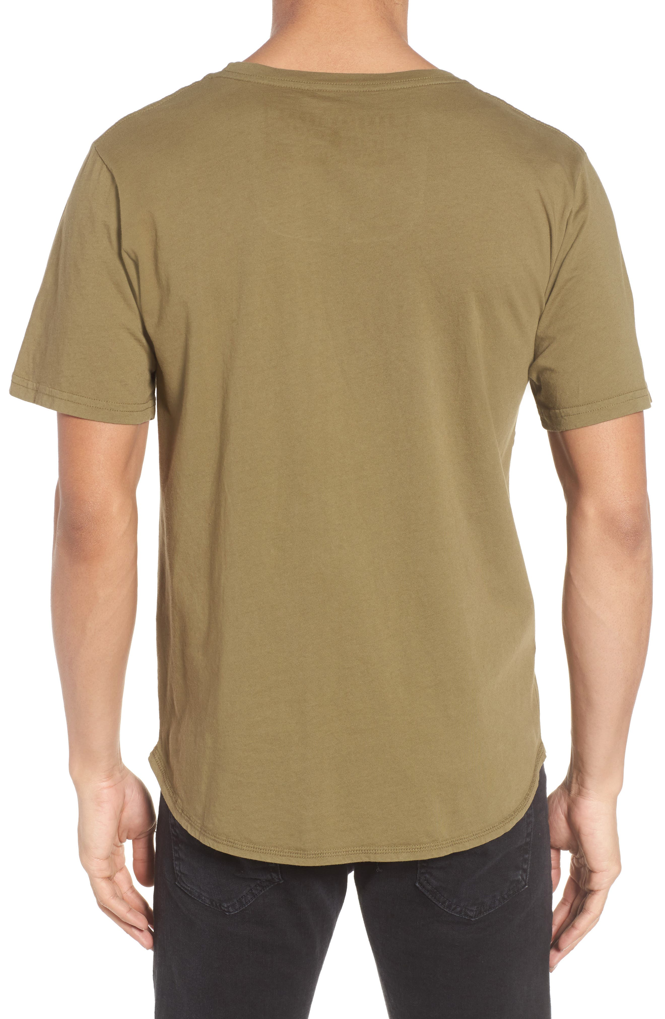 Red Scare Graphic T-Shirt,                             Alternate thumbnail 2, color,                             Infantry Green