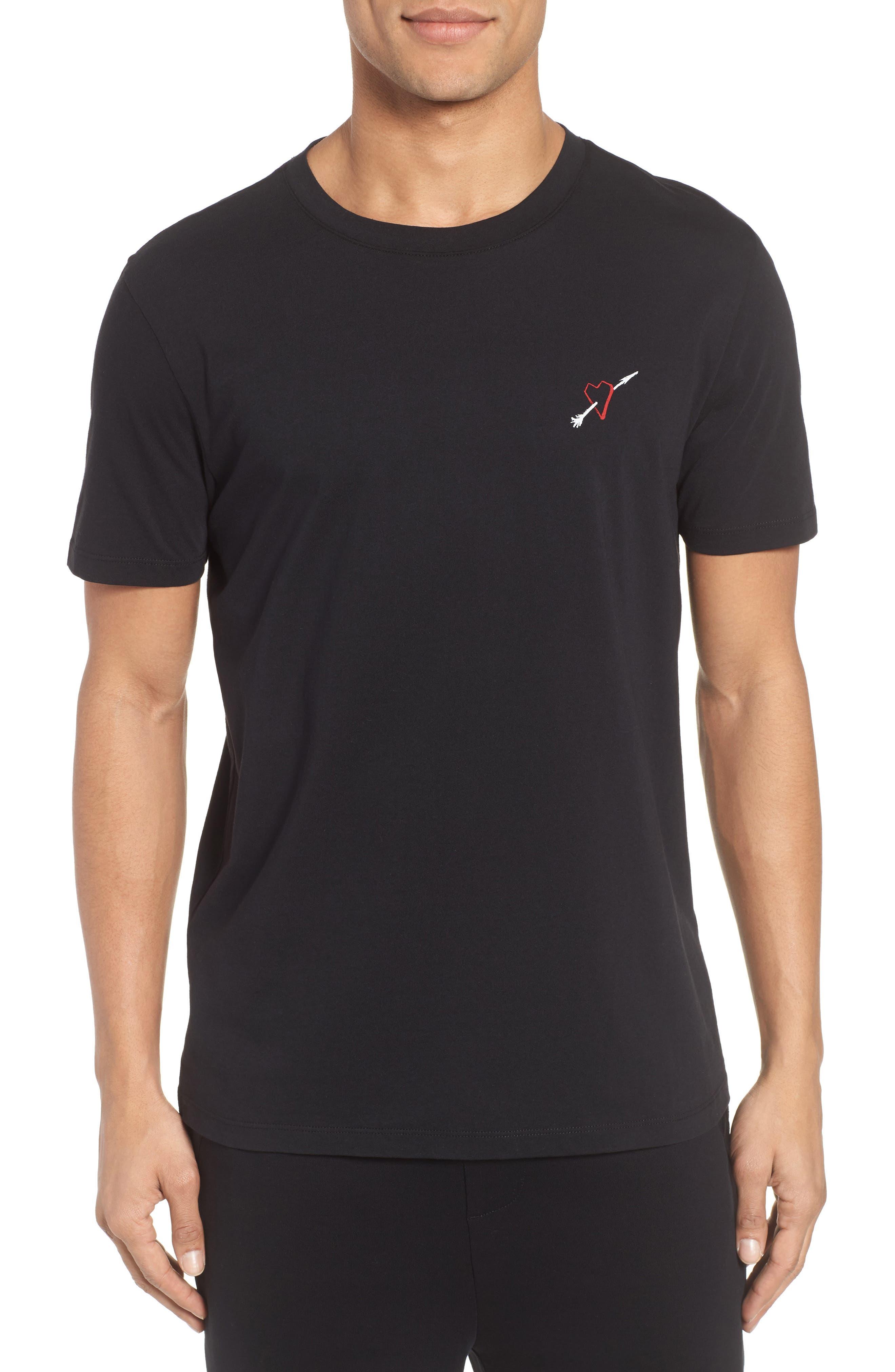 Hugo Boss Dalentine Heart Graphic T-Shirt