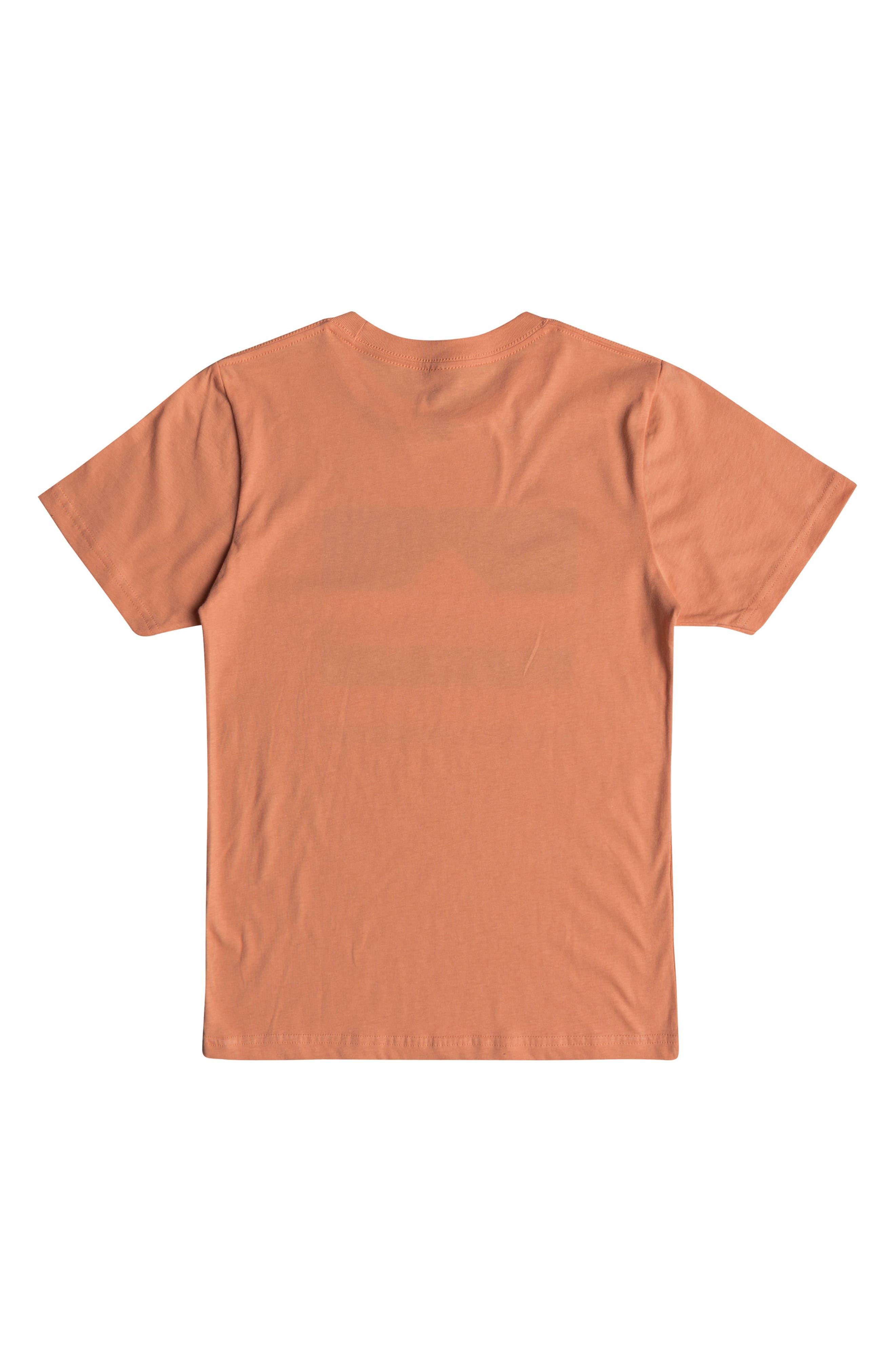 Loud Places Graphic T-Shirt,                             Alternate thumbnail 2, color,                             Cadmium Orange