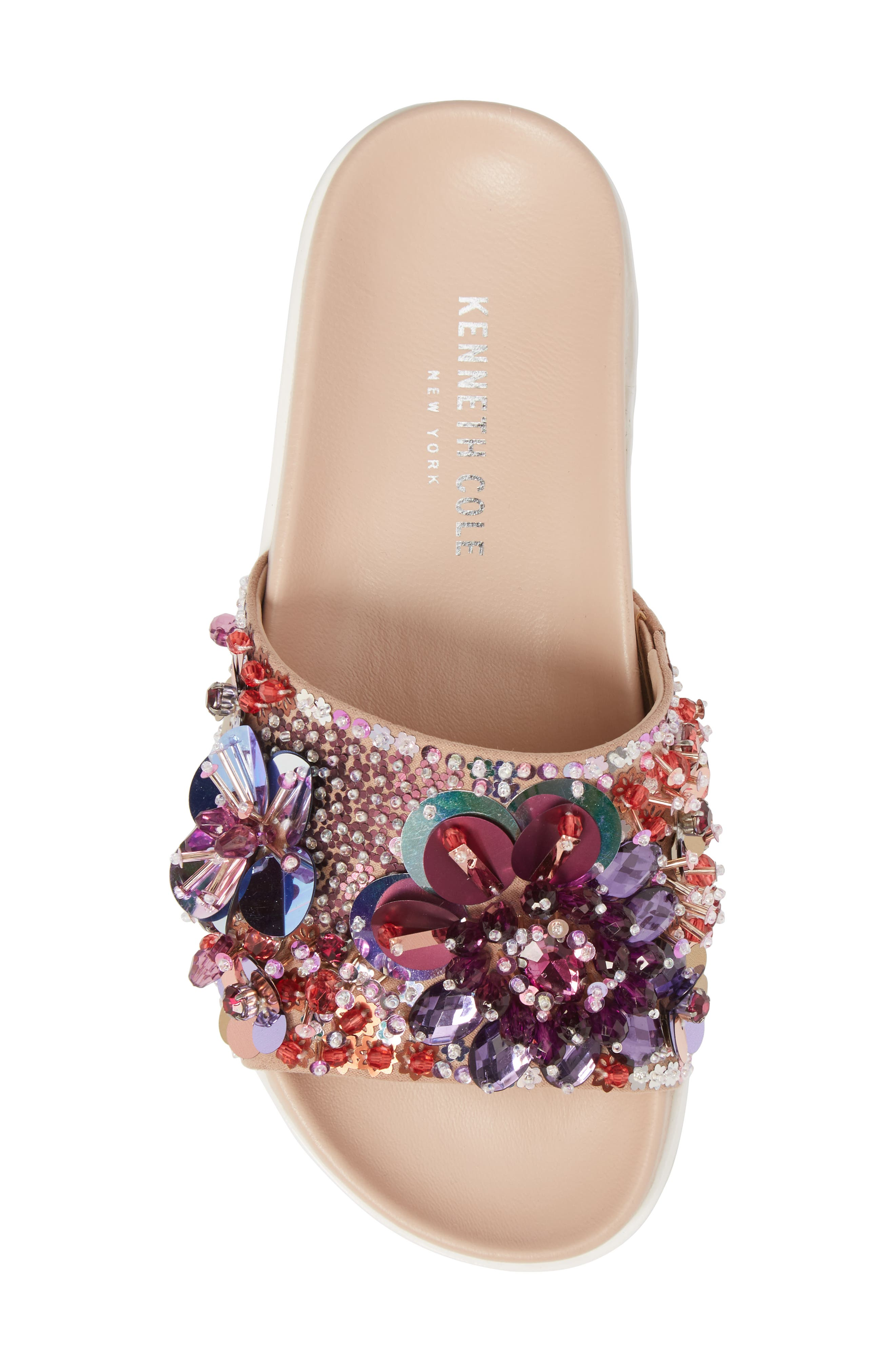 Alternate Image 5  - Kenneth Cole New York Xenia Sequin Embellished Sandal (Women)