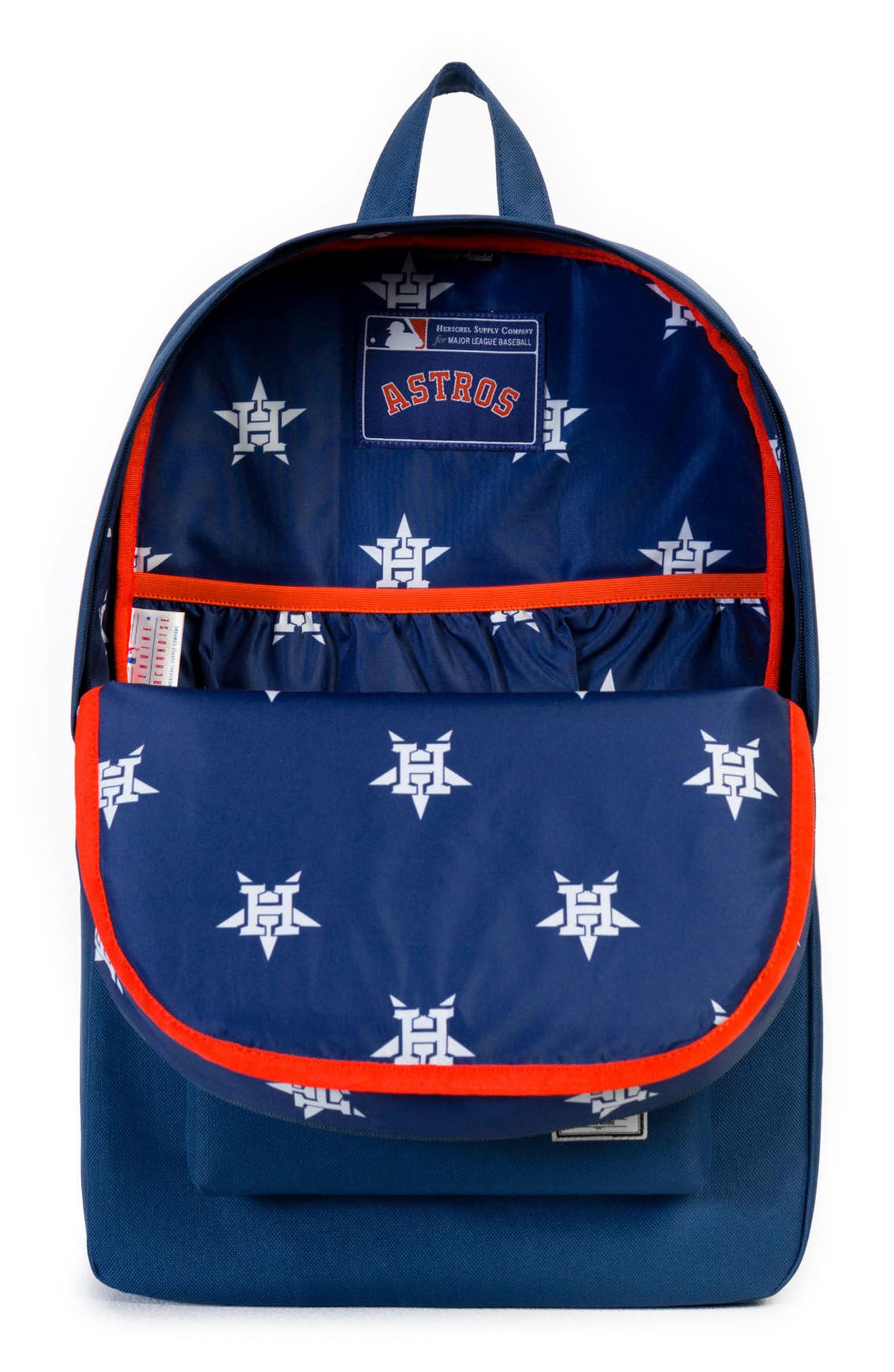 Heritage - MLB American League Backpack,                             Alternate thumbnail 3, color,                             Houston Astros