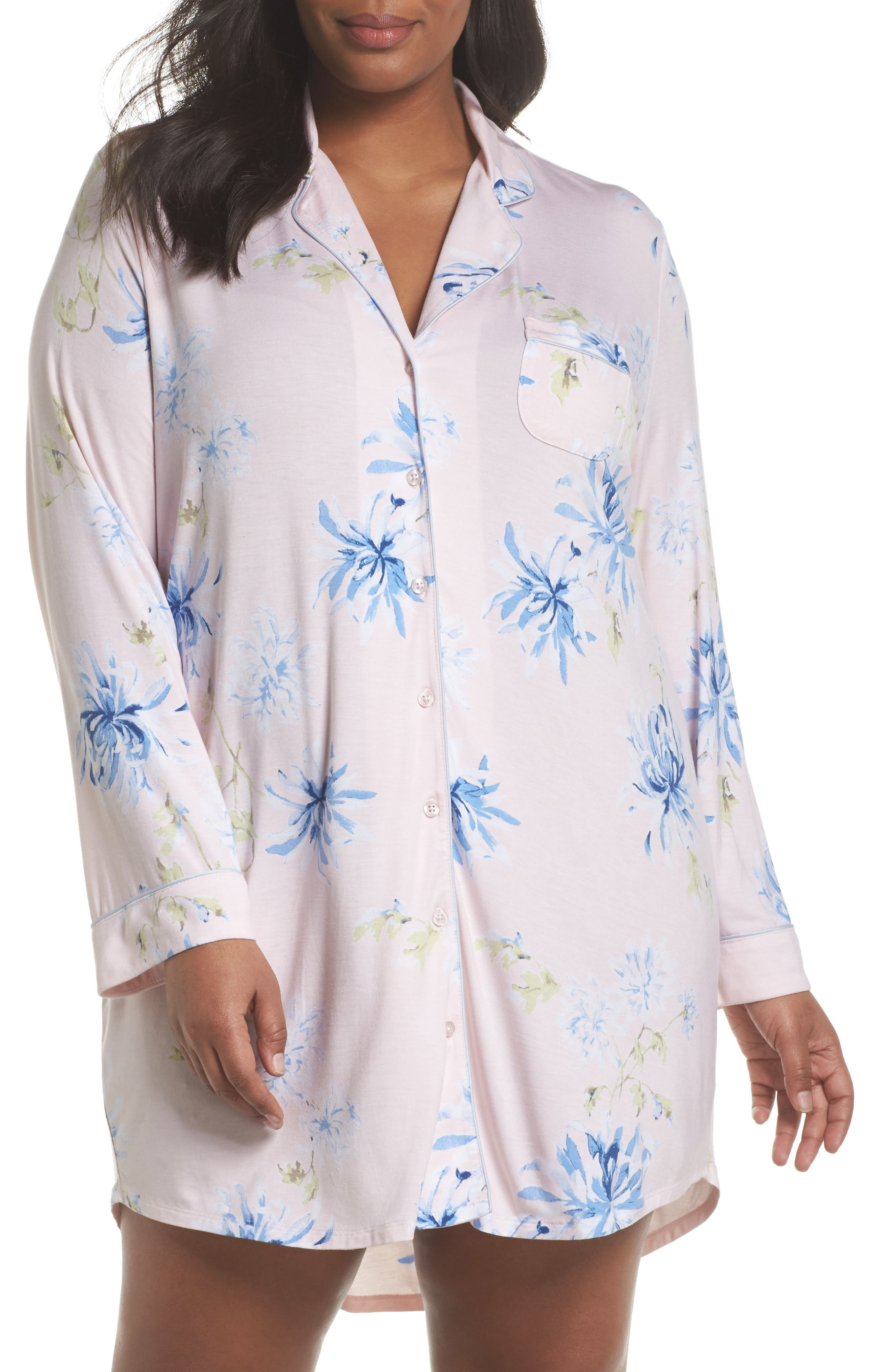 Nordstrom Lingerie 'Moonlight' Nightshirt (Plus Size)