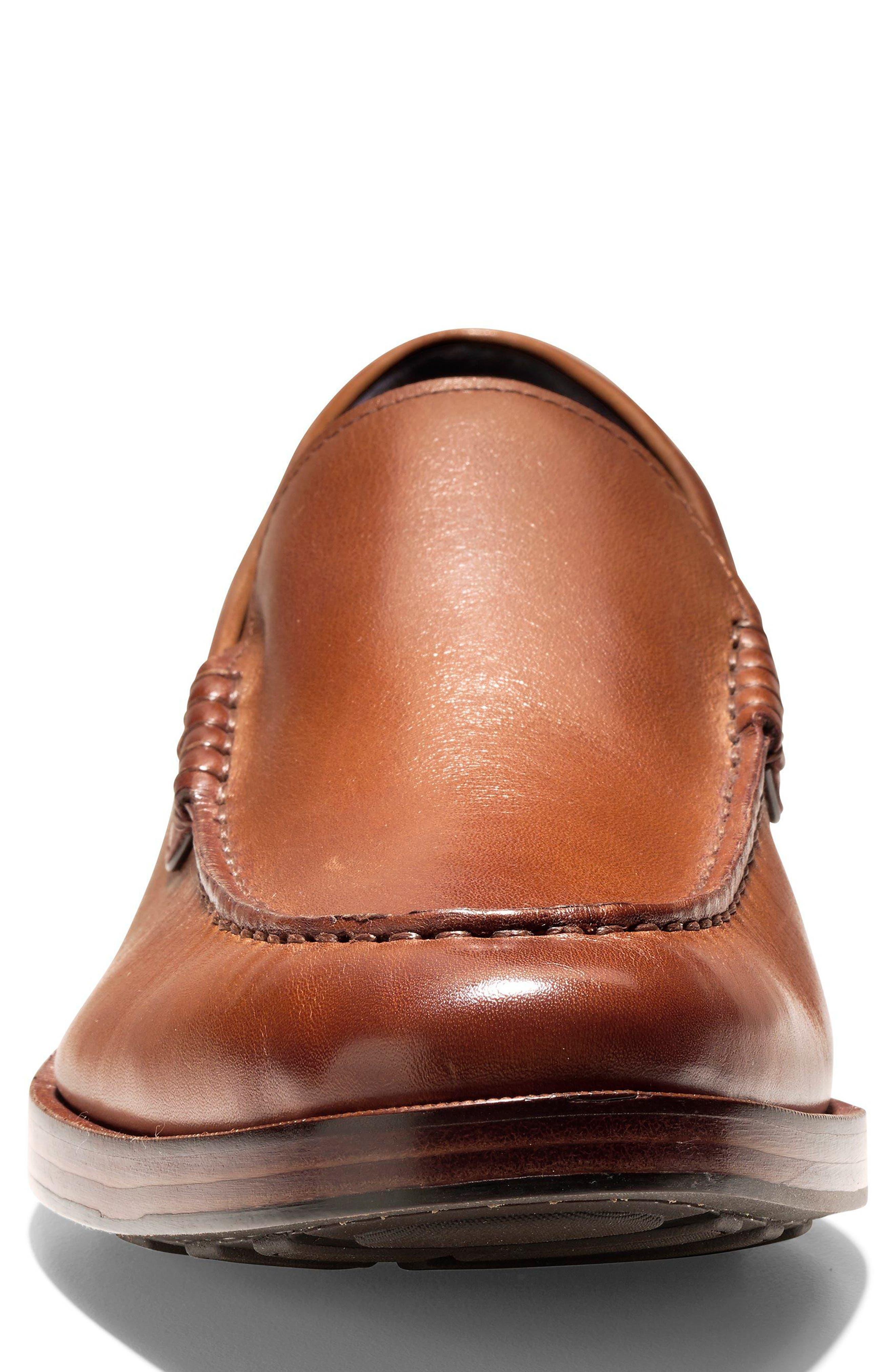 Hamilton Grand Venetian Loafer,                             Alternate thumbnail 4, color,                             British Tan