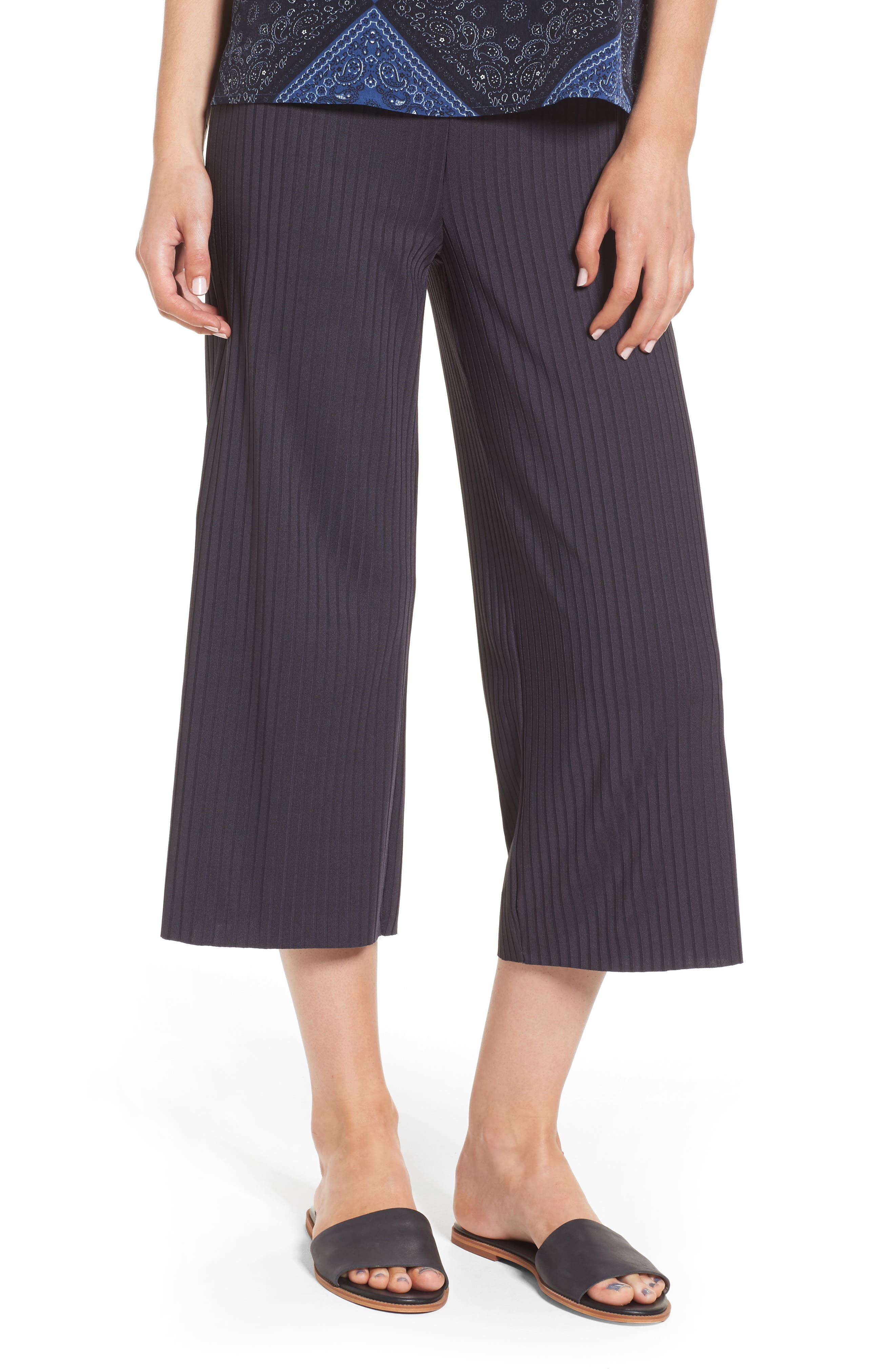 Jefferson Cropped Pant,                         Main,                         color, Navy