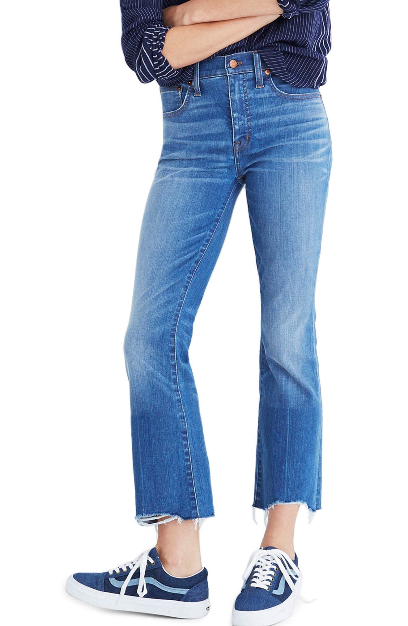Madewell Cali Demi Boot Jeans (Haywood Wash)