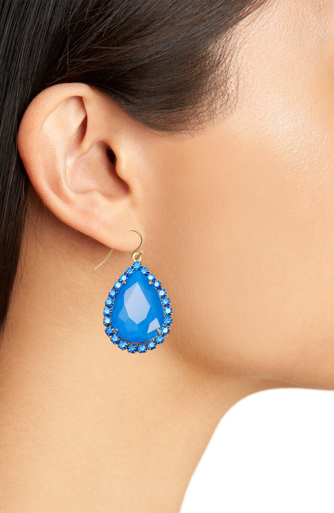 Alternate Image 2  - Loren Hope Krista Crystal Drop Earrings