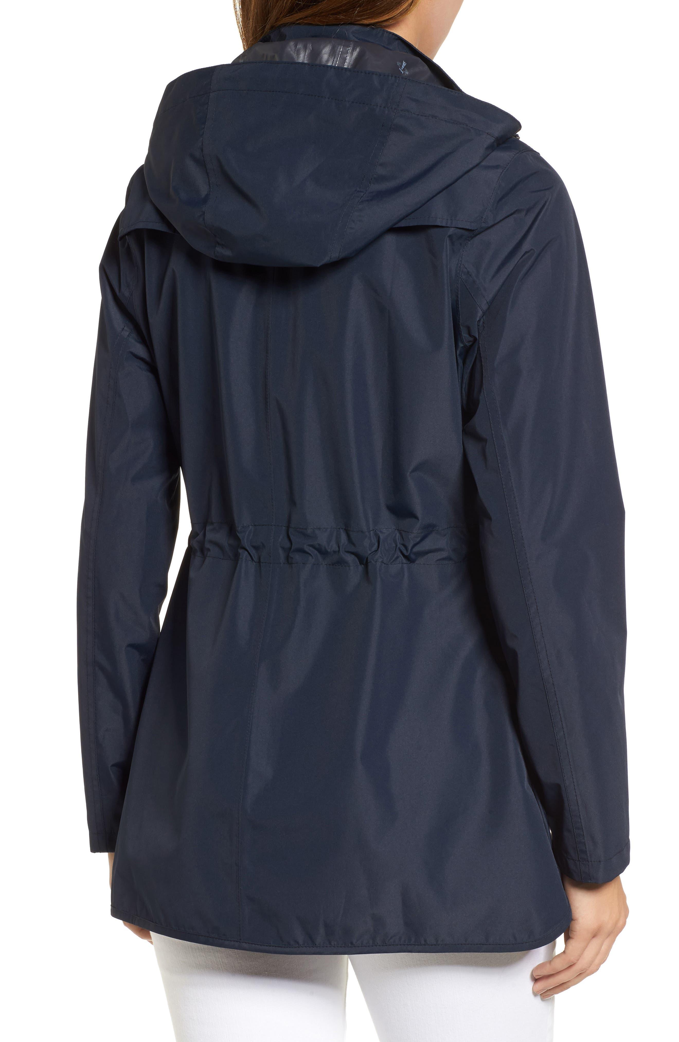 Studland Waterproof Jacket,                             Alternate thumbnail 2, color,                             Navy