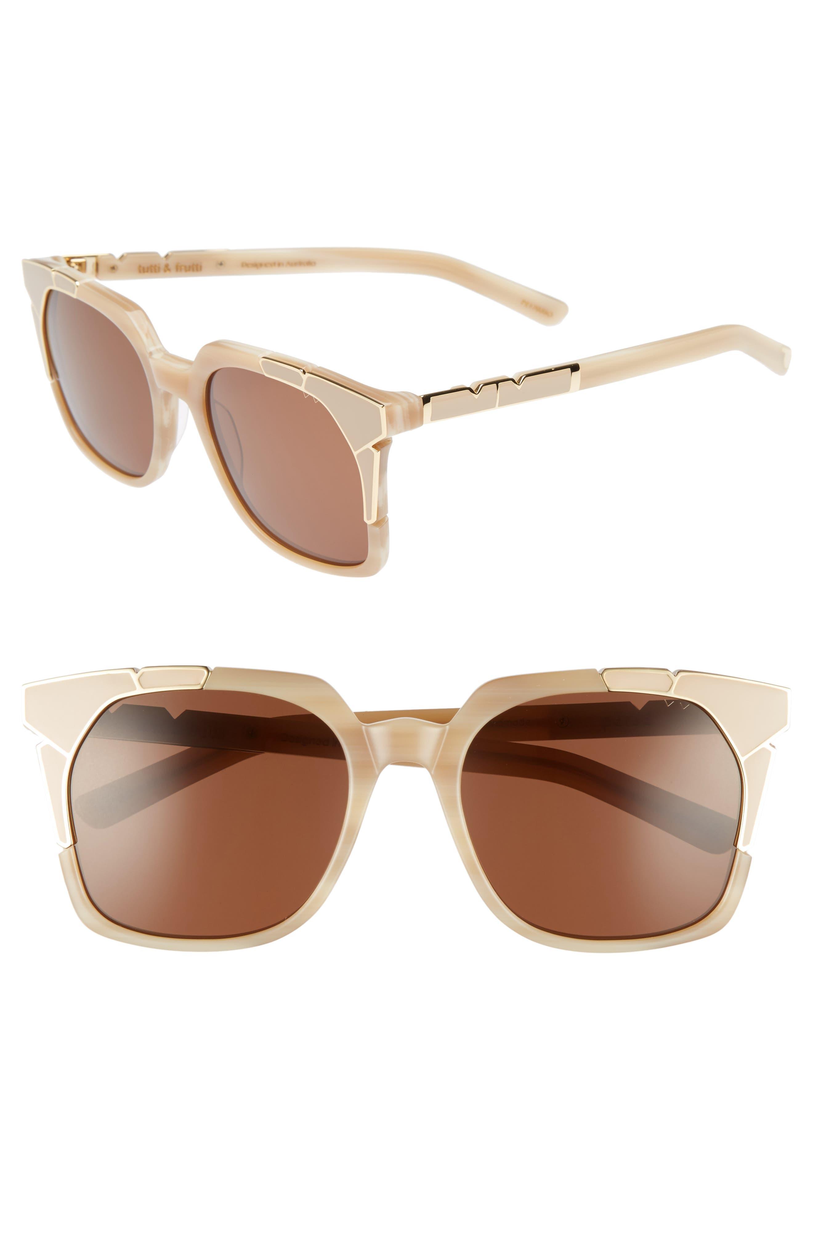 Alternate Image 1 Selected - Pared Tutti & Frutti 55mm Sunglasses