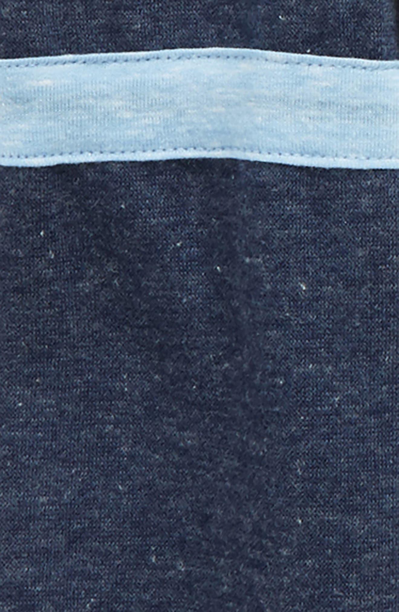 Alternate Image 2  - Maddie Colorblock Cold Shoulder Top (Big Girls)